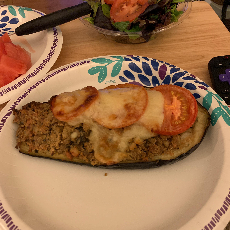 Aunt Eileen's Stuffed Eggplant Terrence Mitchell