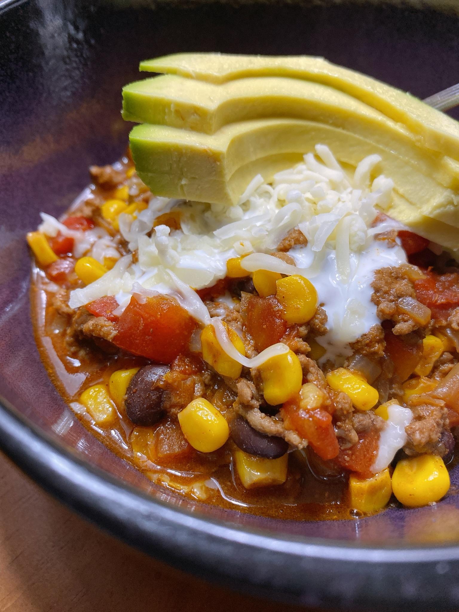 Instant Pot® Taco Soup