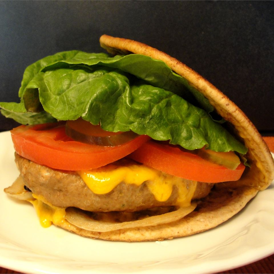 Cumin Turkey Burgers