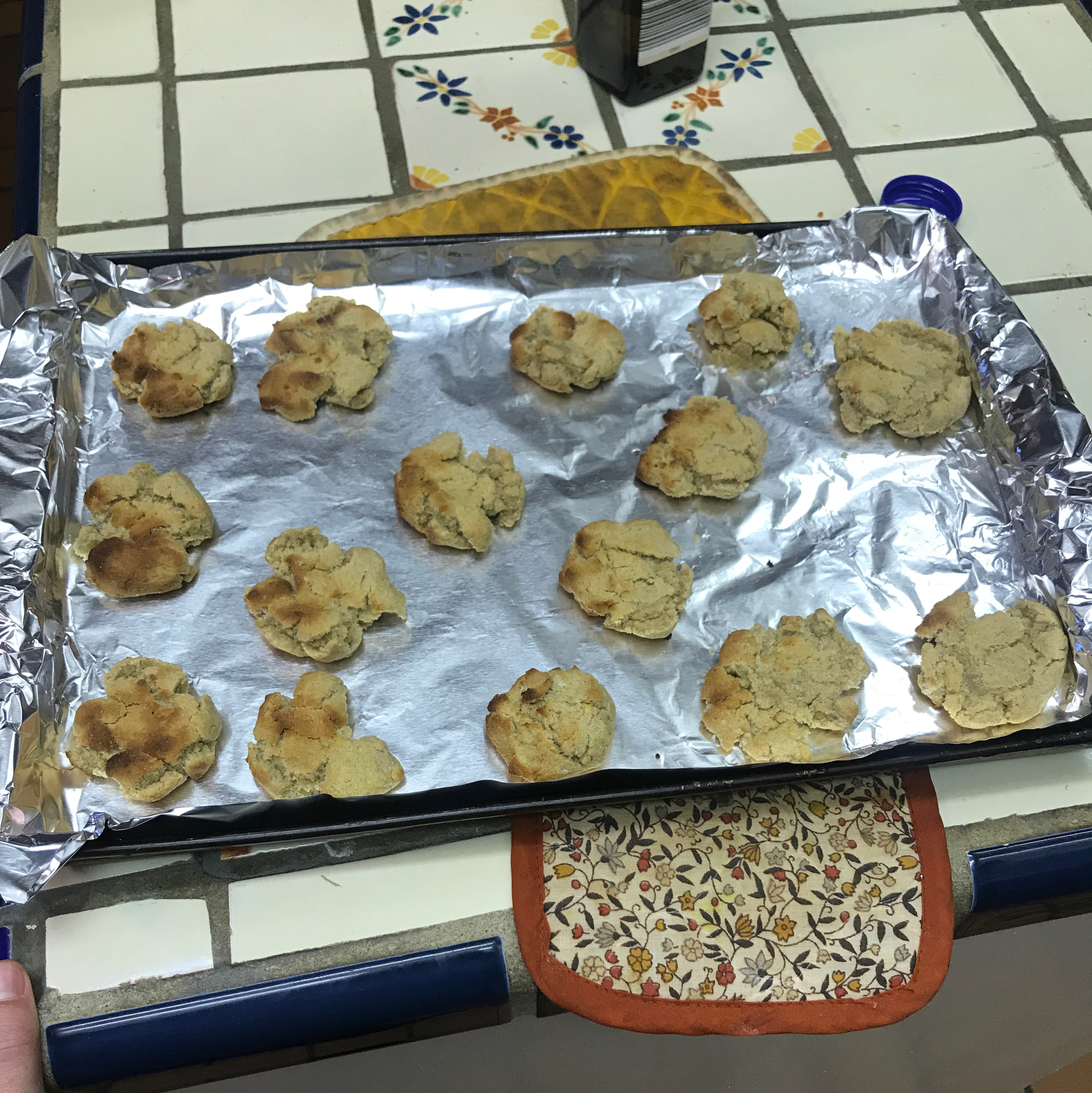 Whole Wheat Applesauce Biscuits