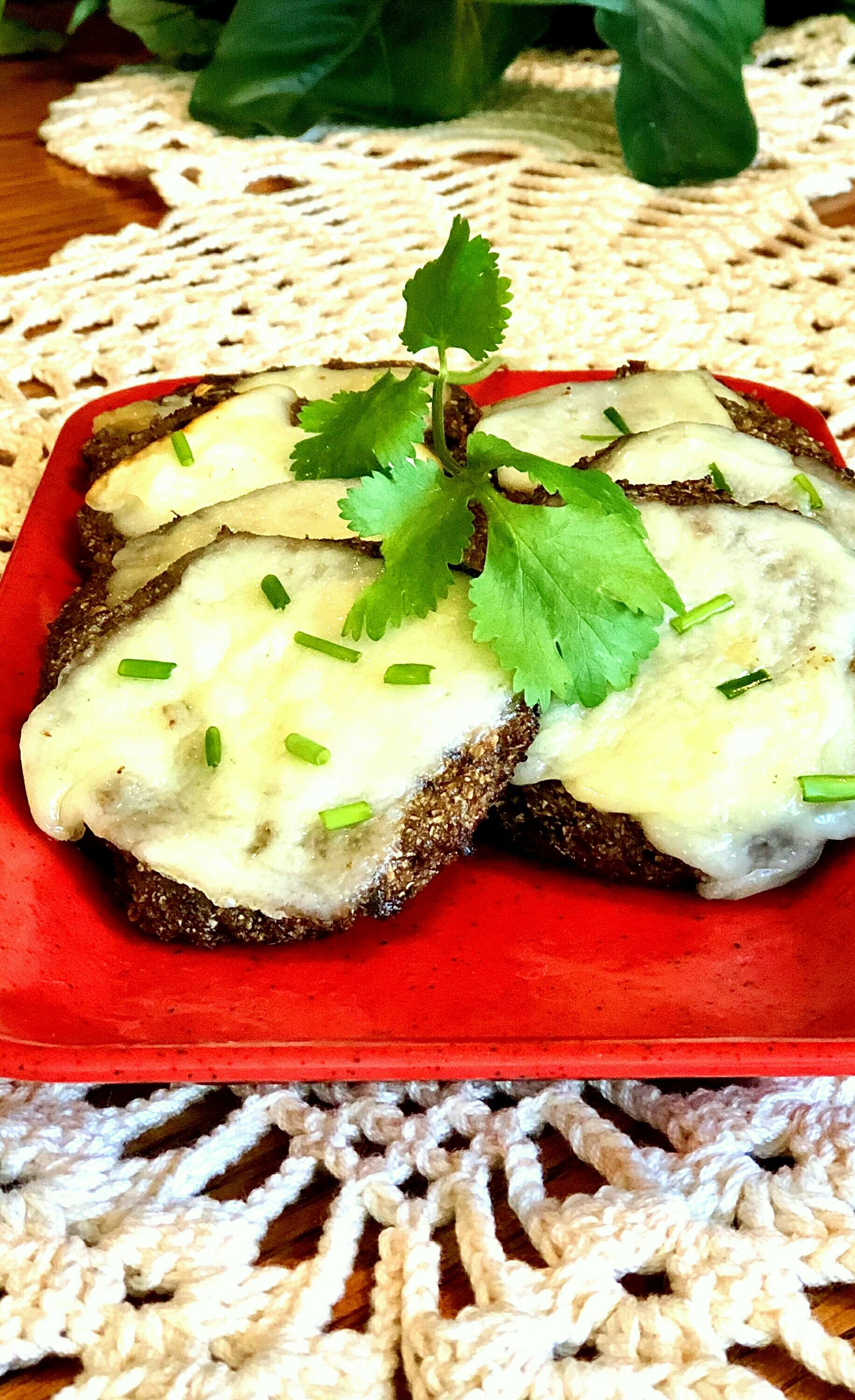Air Fryer Black Garlic-Cauliflower Patties