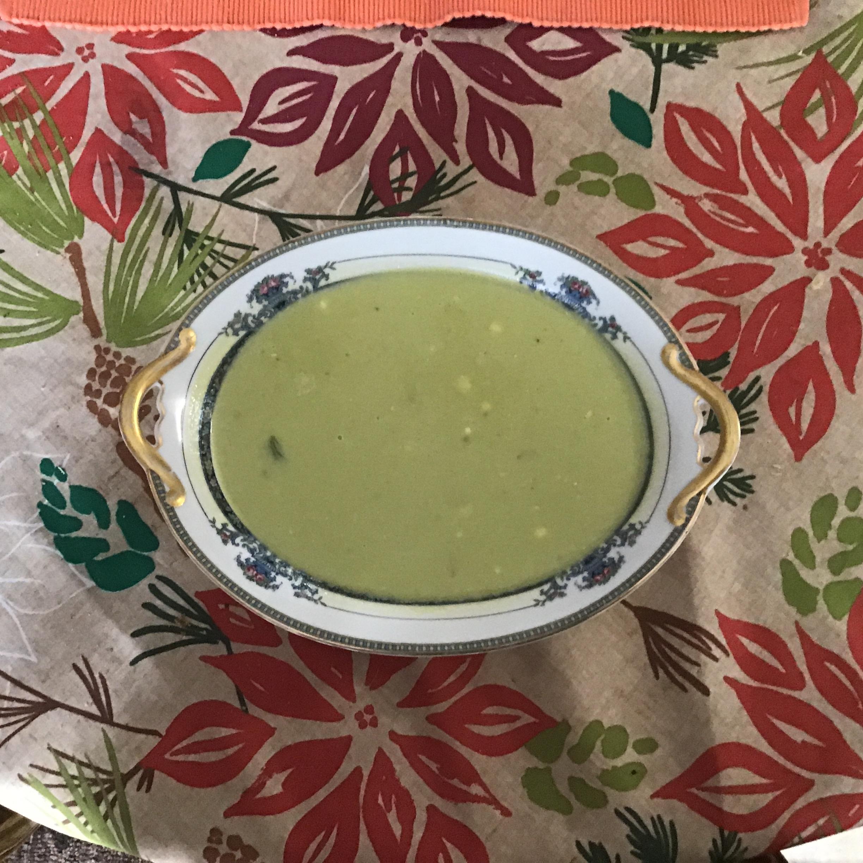 Cream of Fresh Asparagus Soup II