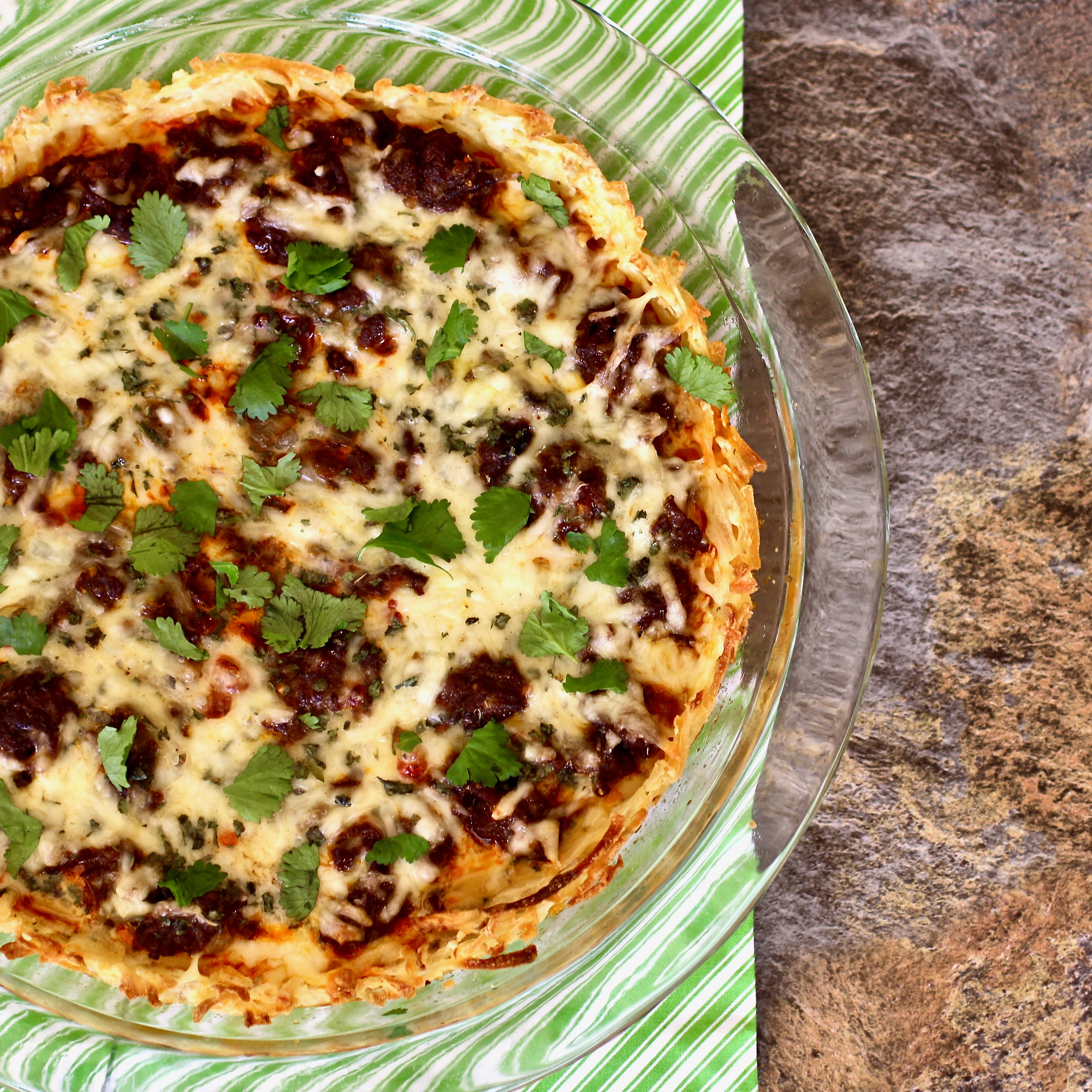 Mexican Chorizo Breakfast Pie Dana