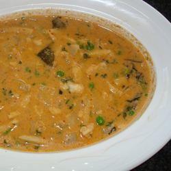 Thai Monkfish Curry supi