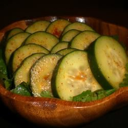 Cilantro Cucumber Salad kellieann