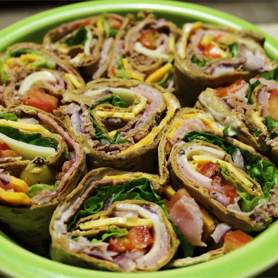 Turkey Wraps hungryallweighs