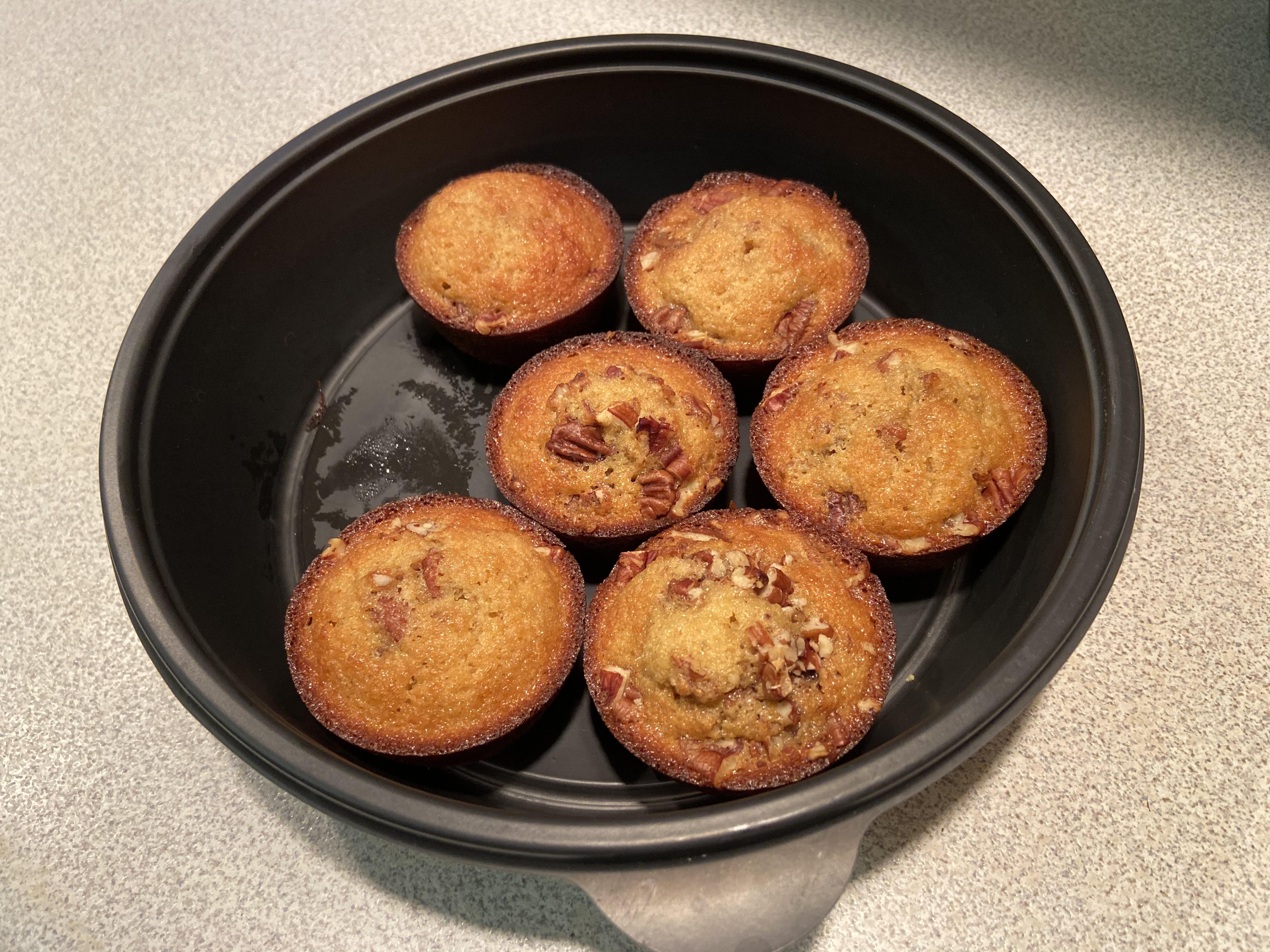 Honey-Pecan Mini Muffins reneelynnp