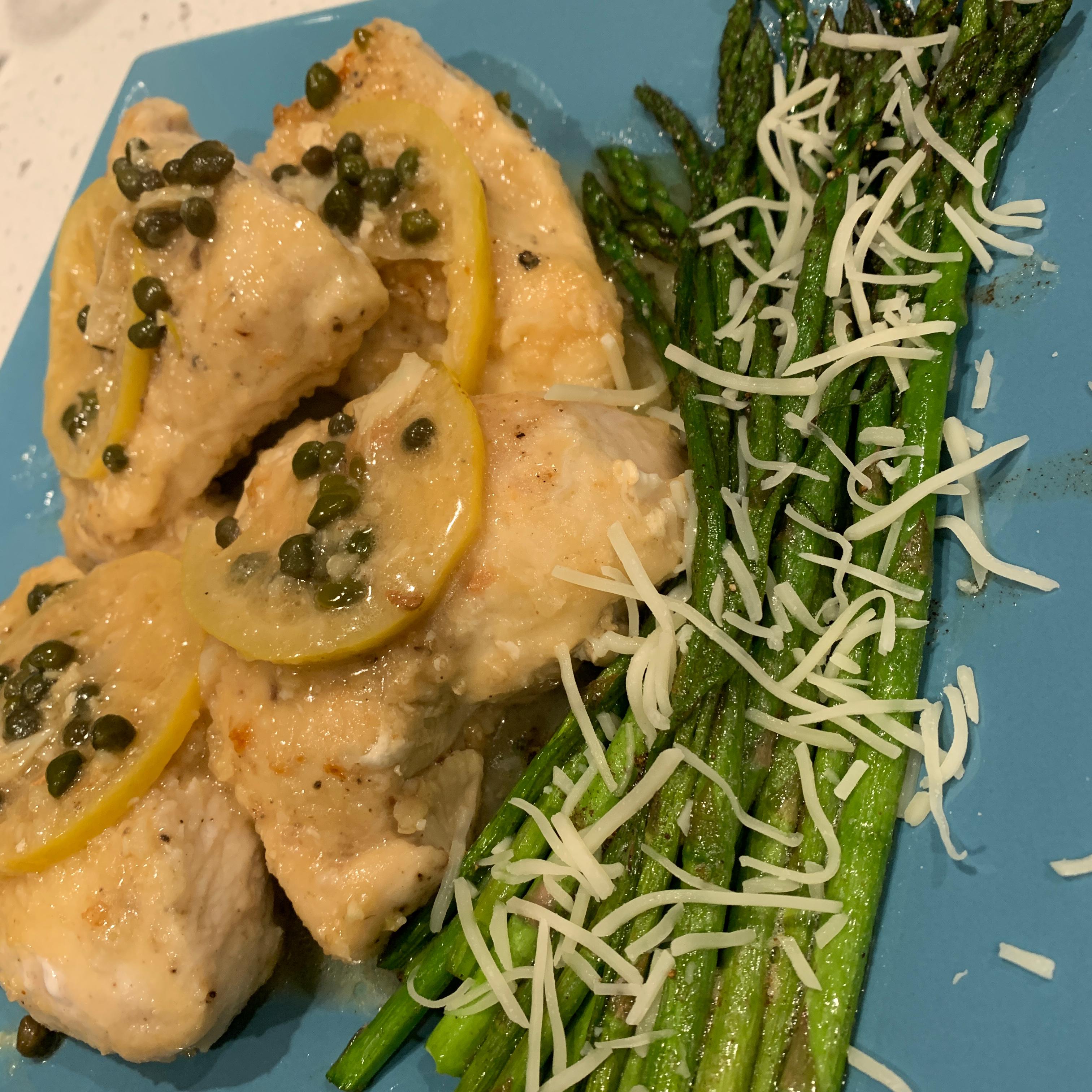 Lemon Chicken Piccata Marissa