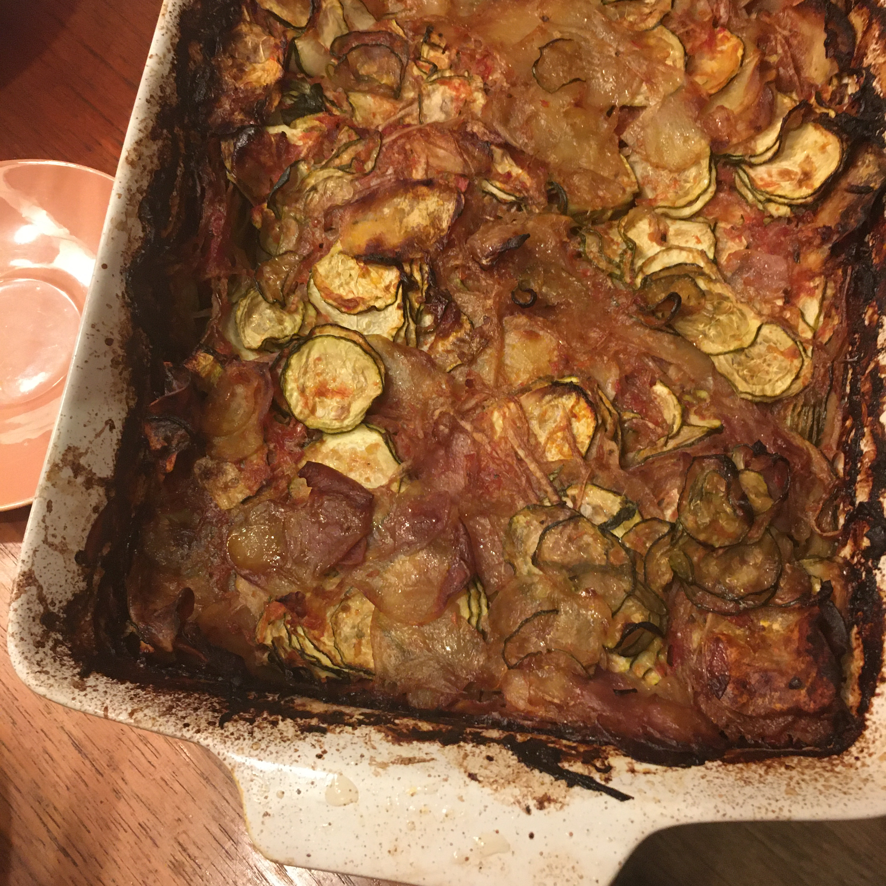 Briam (Greek Baked Zucchini and Potatoes)