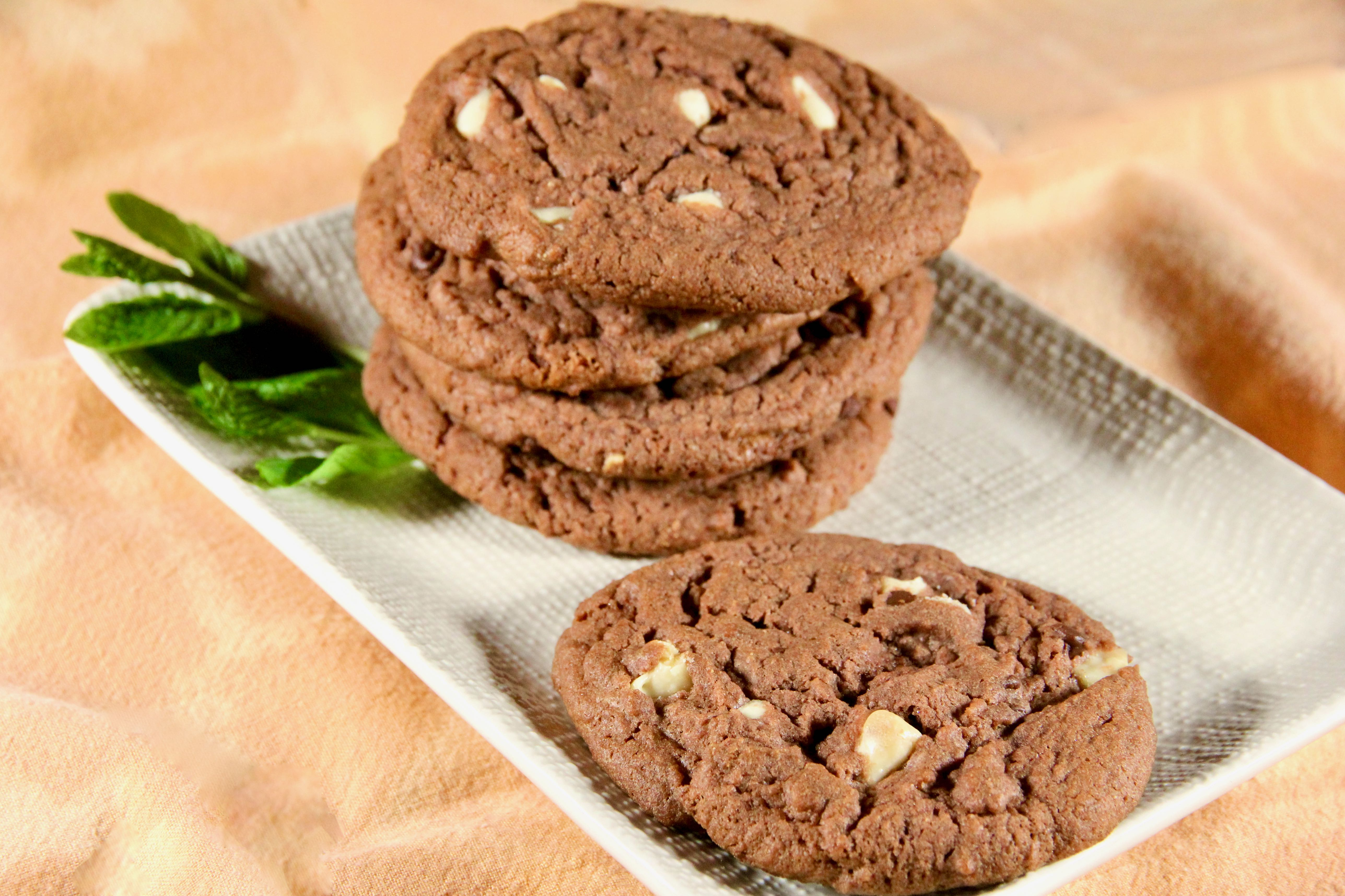 Soft Chocolate Pudding Cookies
