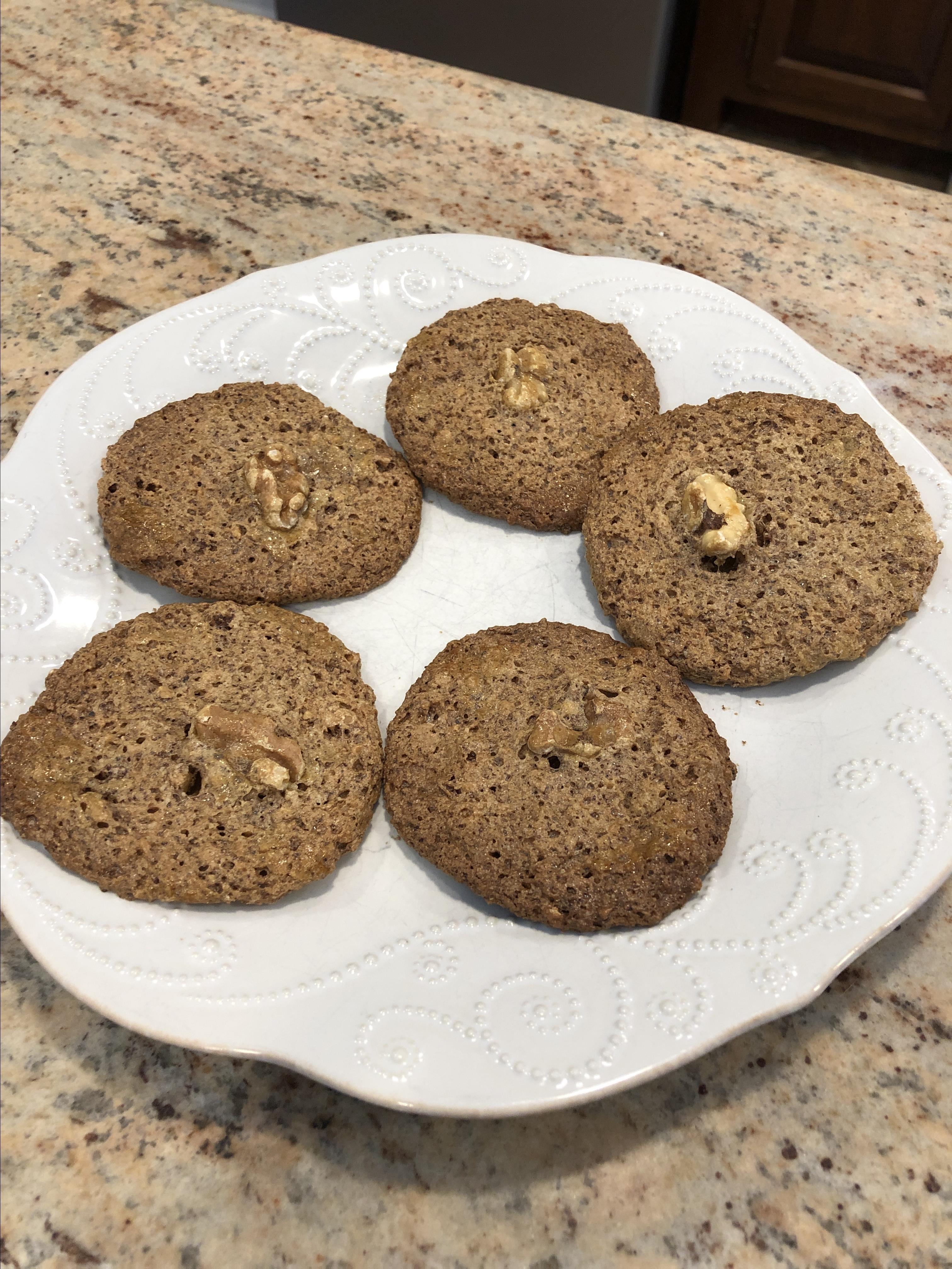 The Rebbetzin Chef's Persian Walnut Cookies mnpnj