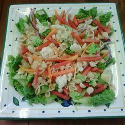 Rainbow Pasta Salad Mrs.Humphreed