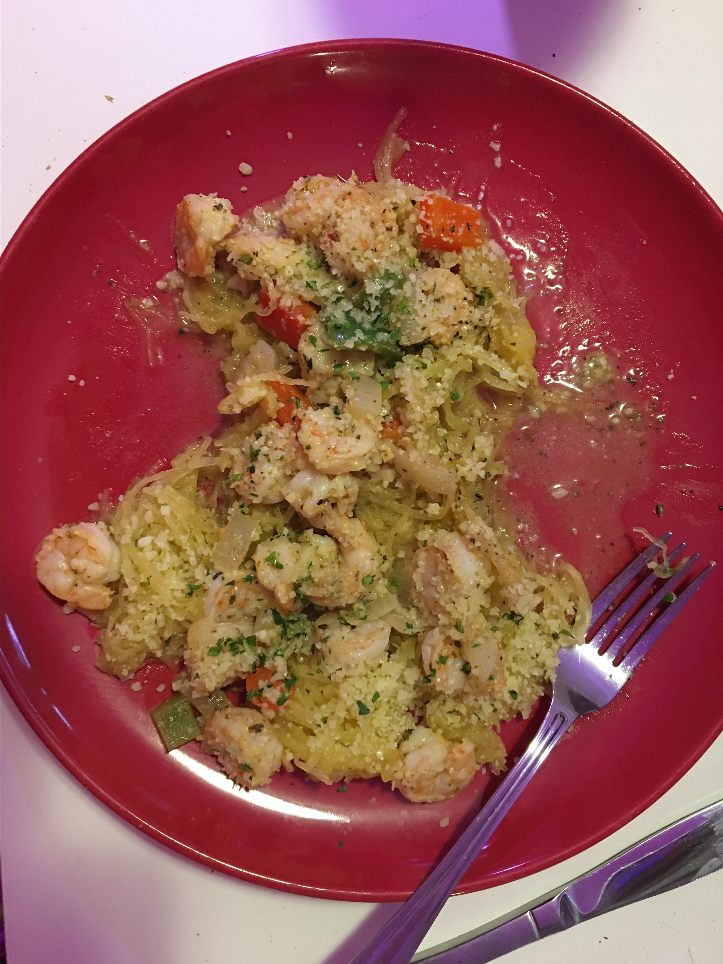 Shrimp Scampi with Spaghetti Squash Jill S.