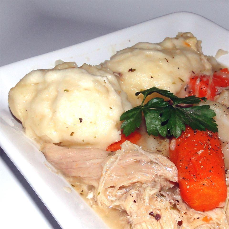 Beginner Chicken and Dumplings heatherg