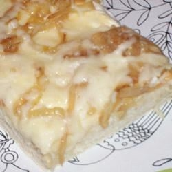 White and Gold Pizza