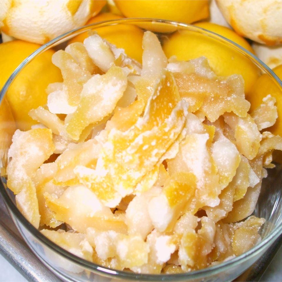 Sweet Candied Orange and Lemon Peel marljong