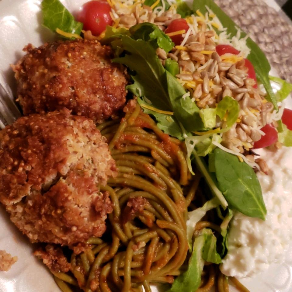 Turkey and Quinoa Meatballs KarmaChic66