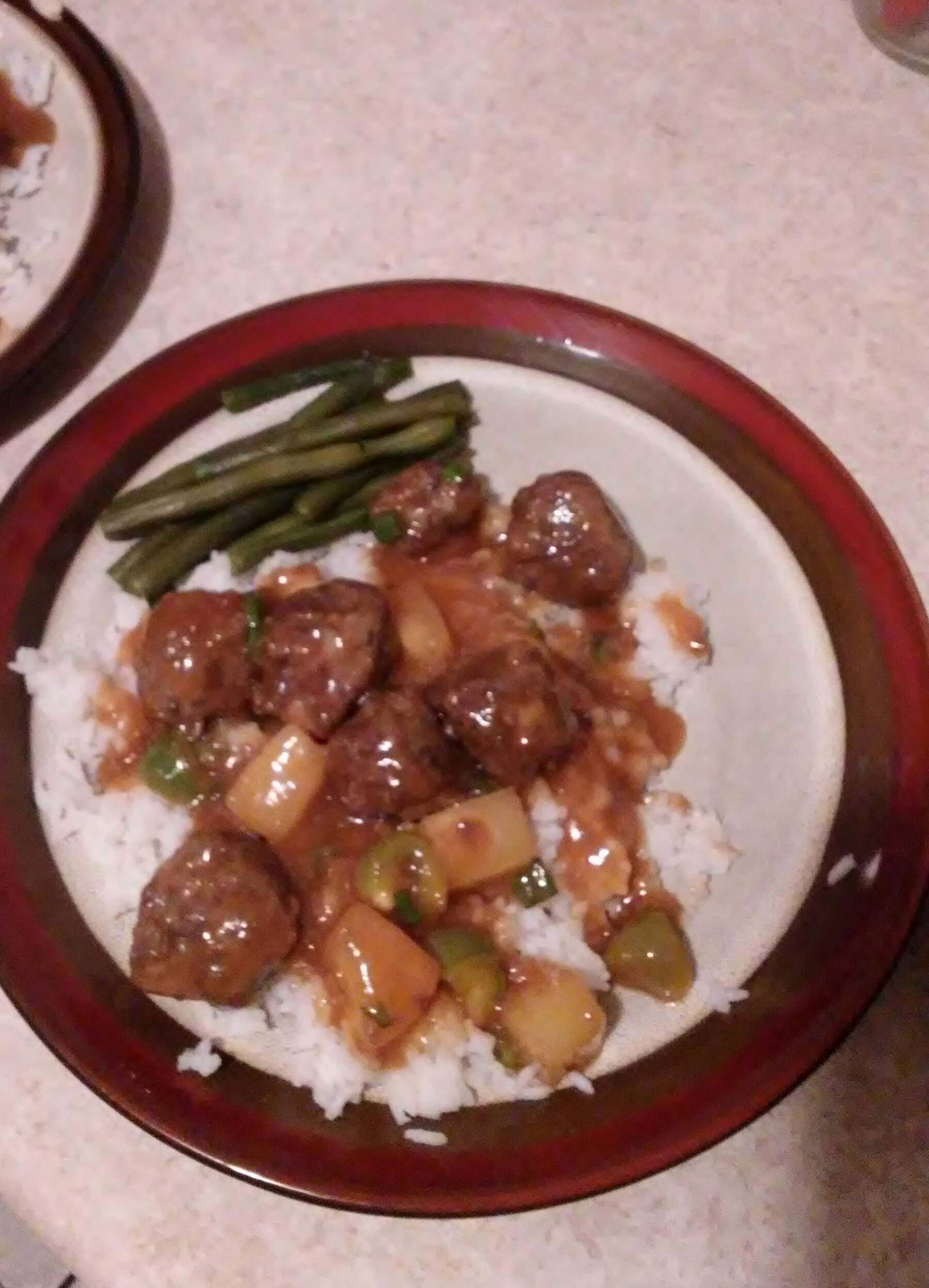 Pineapple Sweet and Sour Sauce Aileen