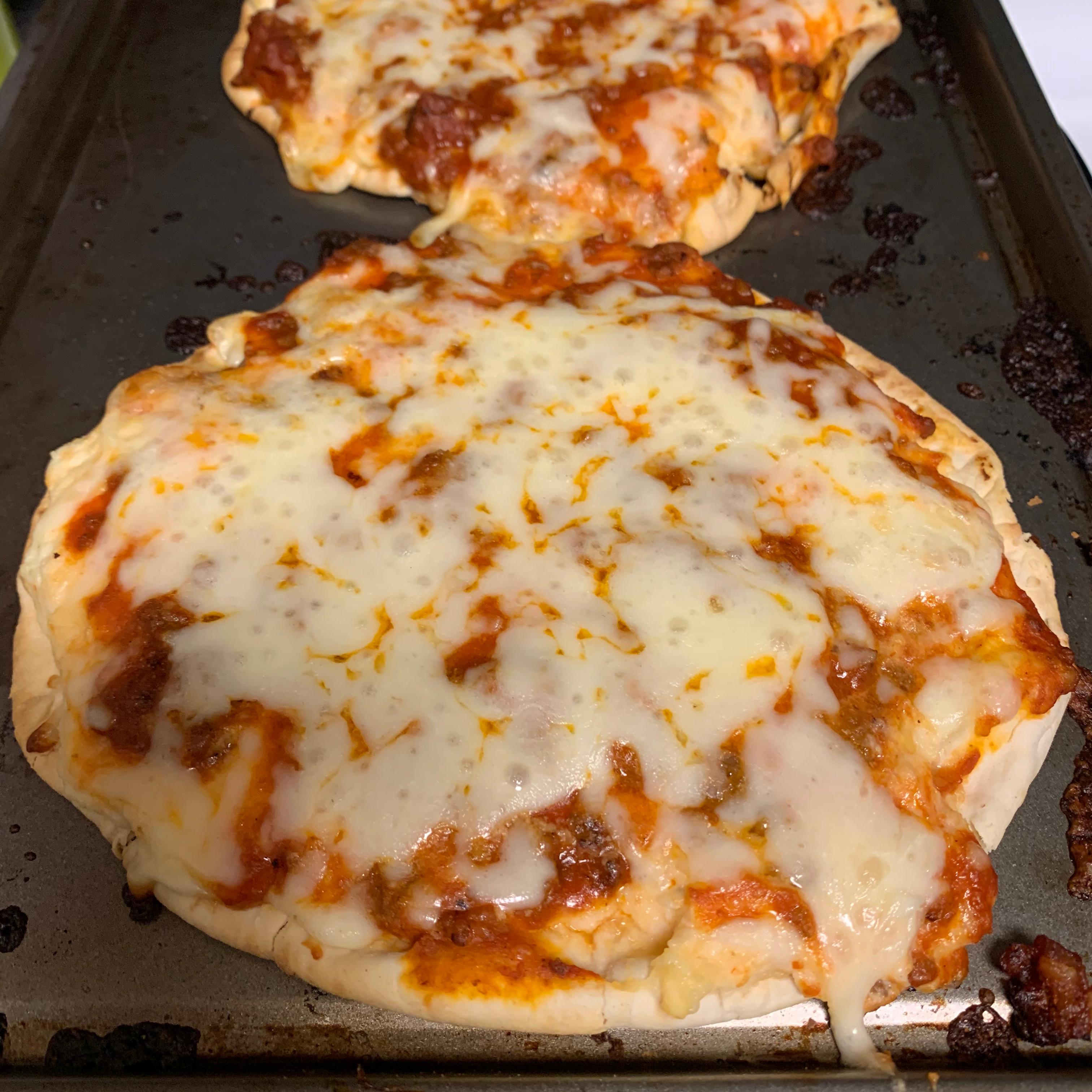 Lasagna Flatbread Melissa Hazelett