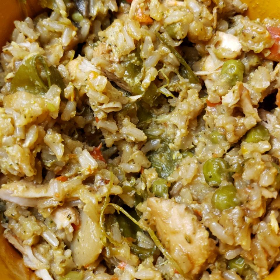 Instant Pot® Chicken Fried Rice Peggy Pongratz