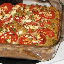 Squash with Tomato and Feta Cheese moxie & mirth