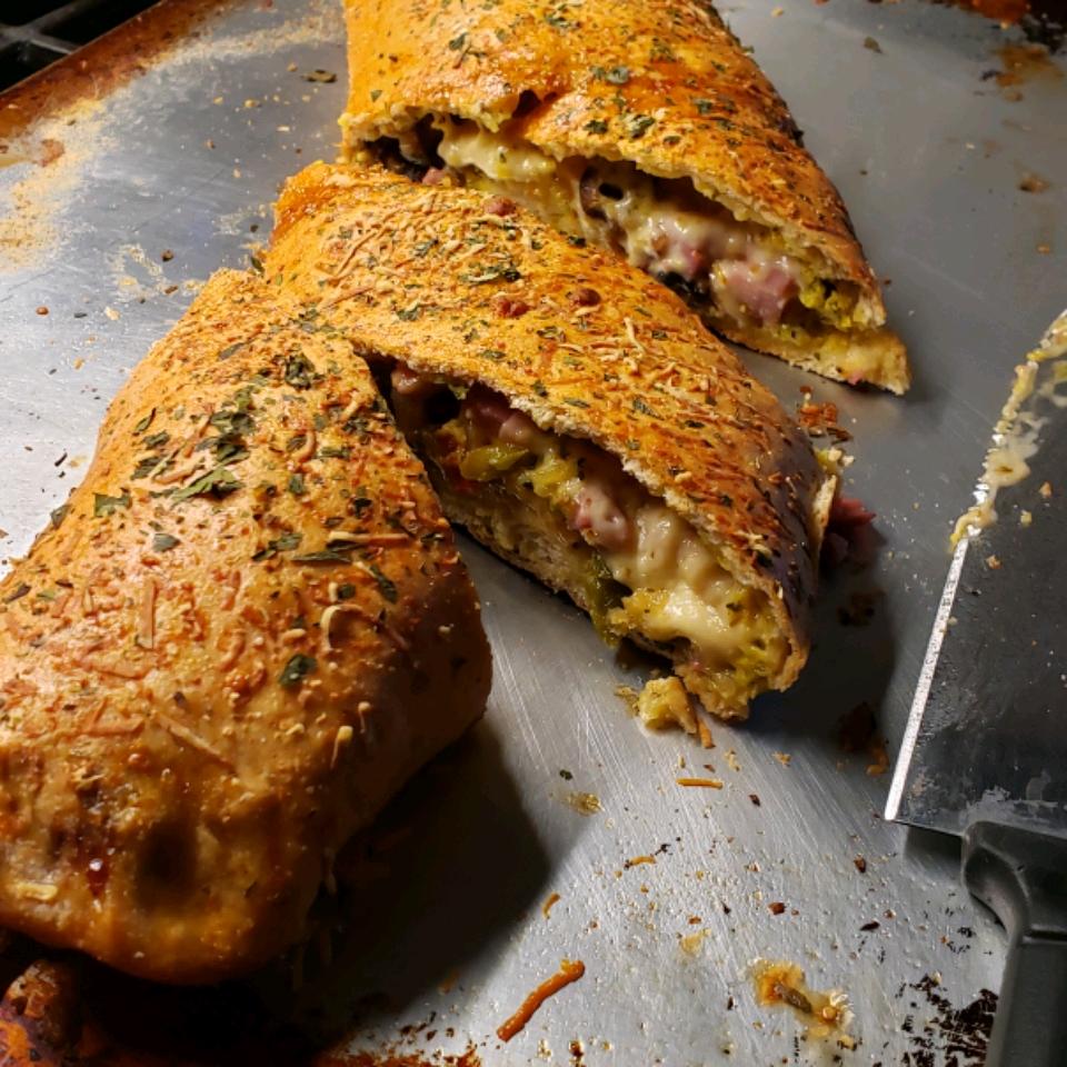 Meat and Veggie Stromboli Debbie Venus-Fenrich
