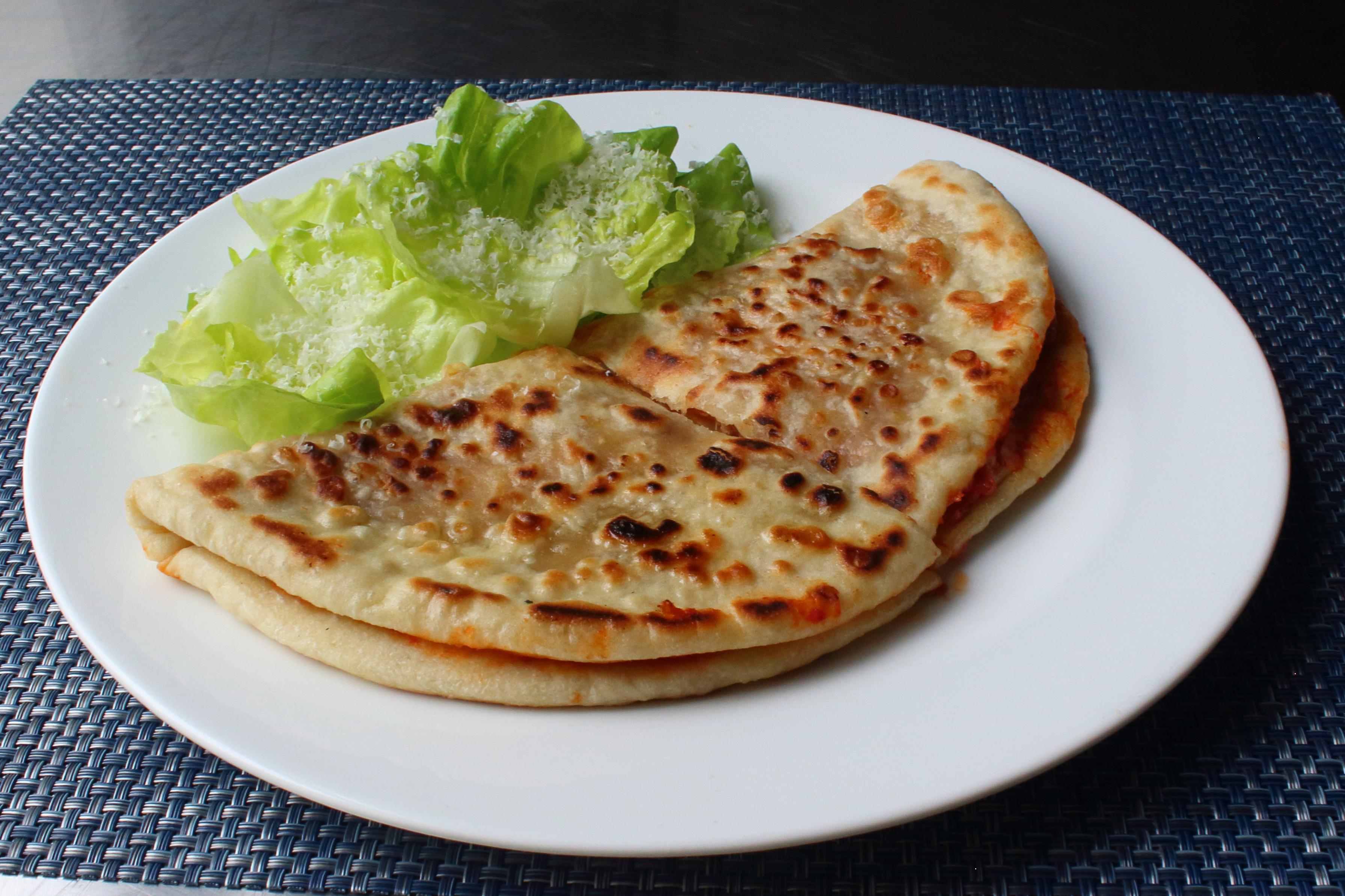 Pizzadilla (Grilled Pizza Sandwich)