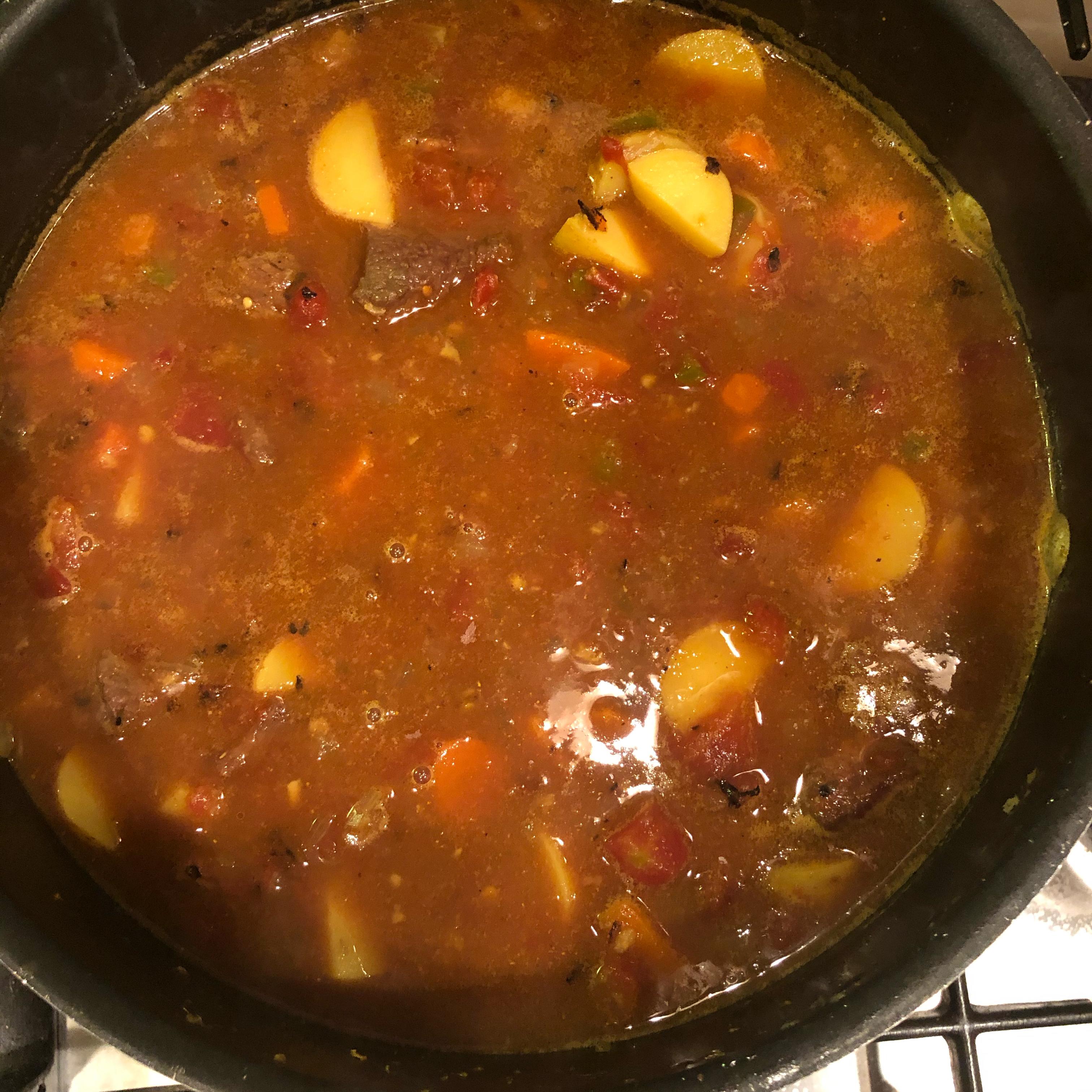 Instant Pot® Spicy Beef Curry Stew Ashlee Winn