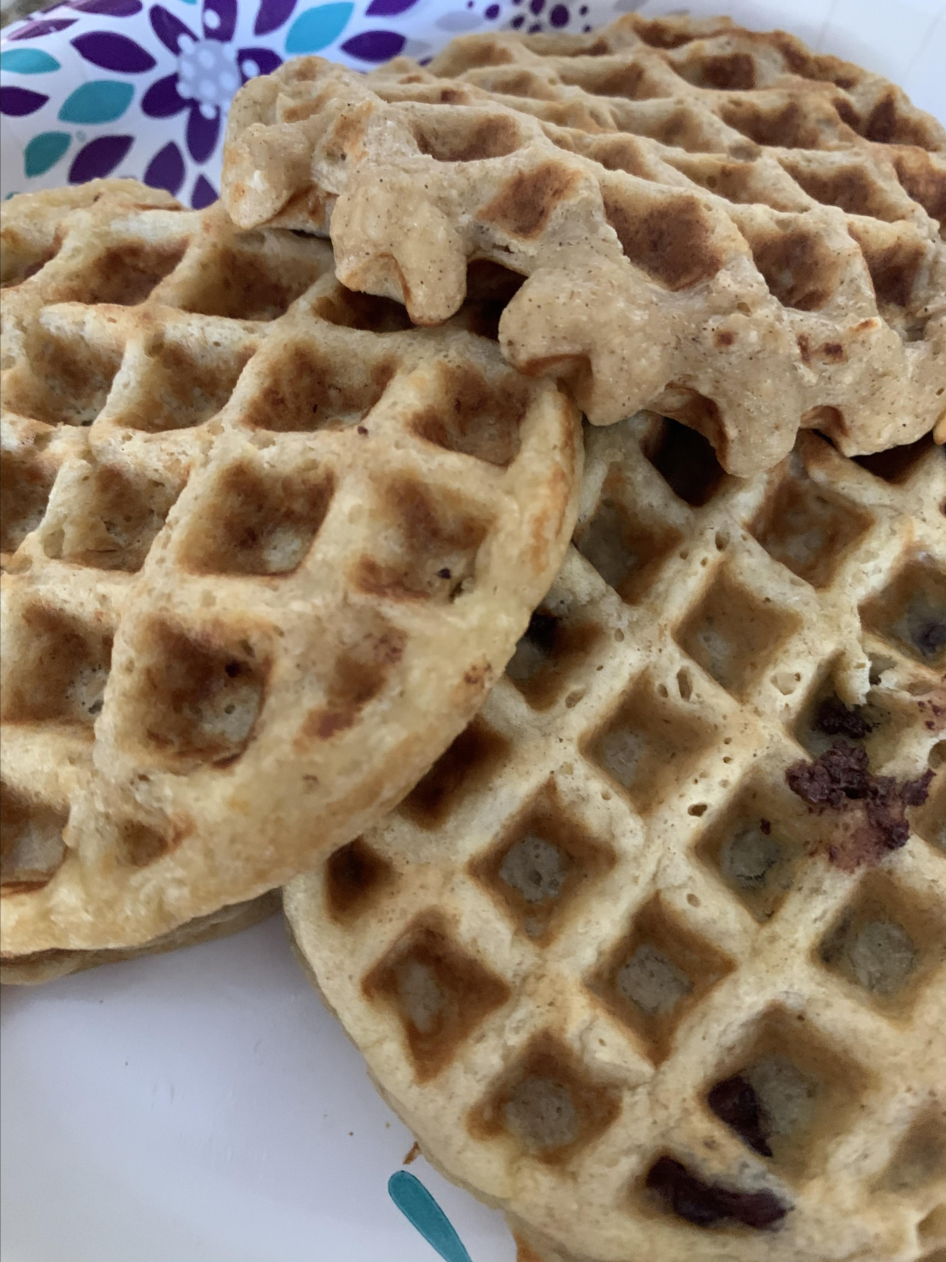 Cathy's Gluten-Free Oatmeal Waffles