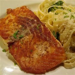 Easy Fried Salmon