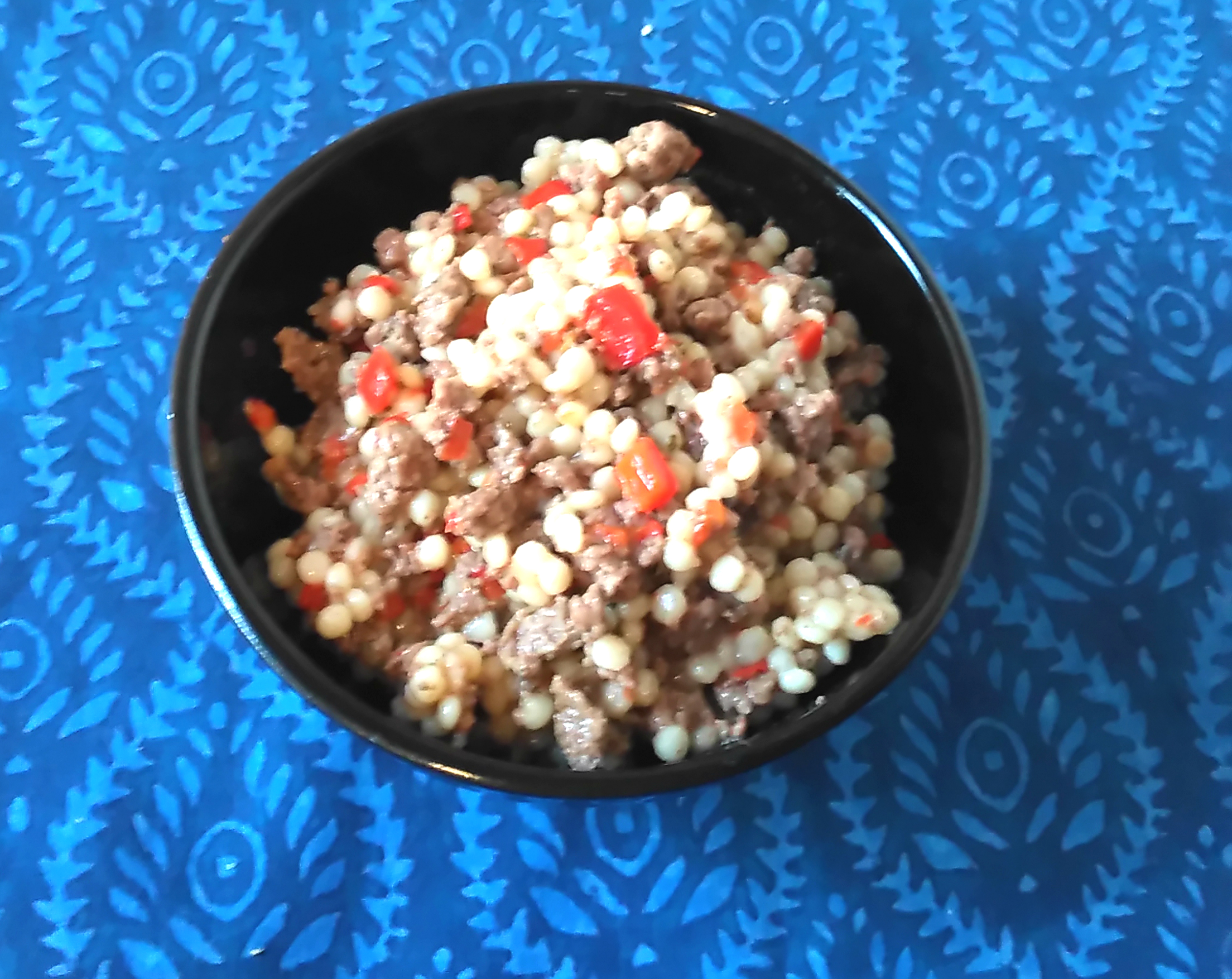Instant Pot® Ground Beef and Israeli Couscous