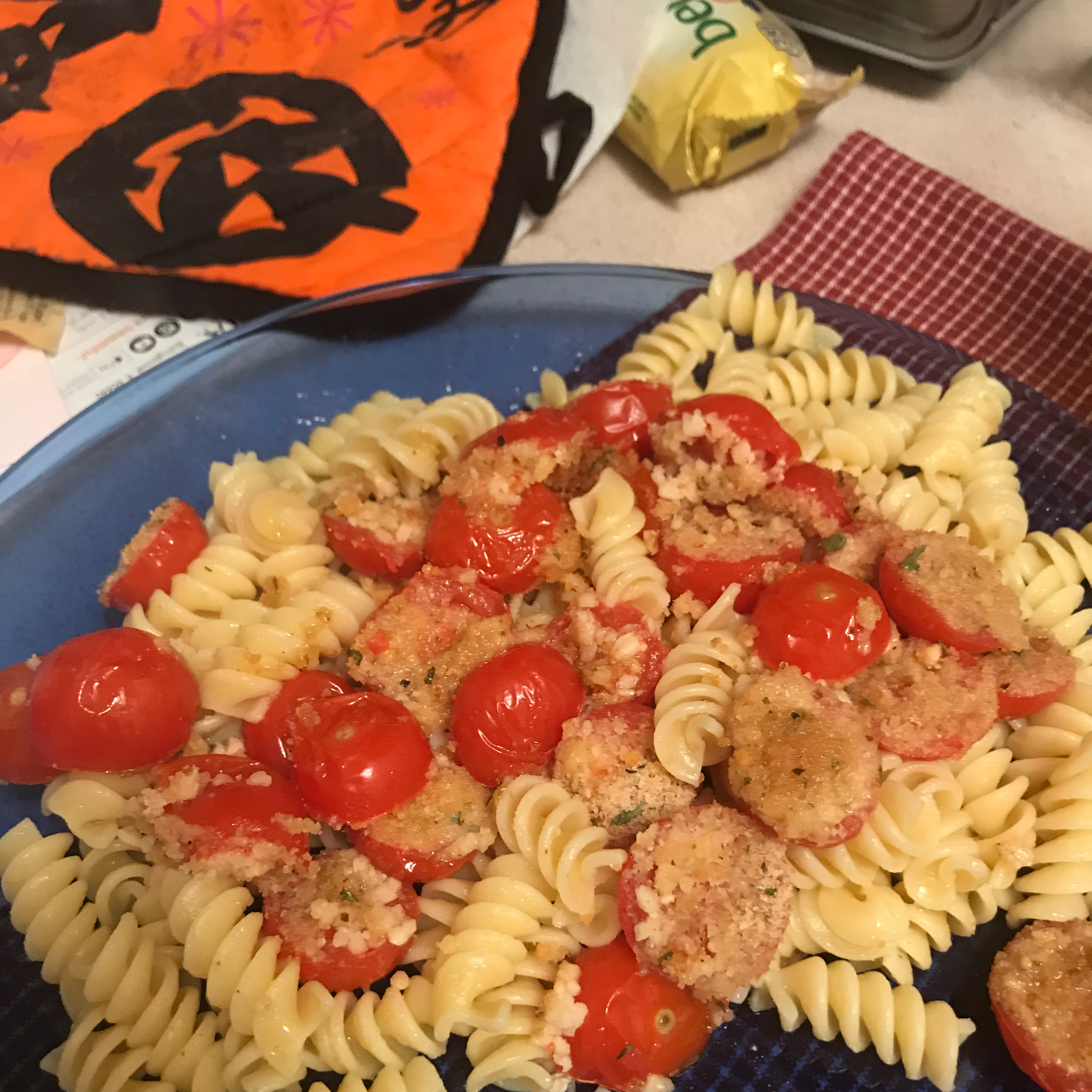 Spaghetti with Oven-Roasted Cherry Tomatoes Yvonne Donovan