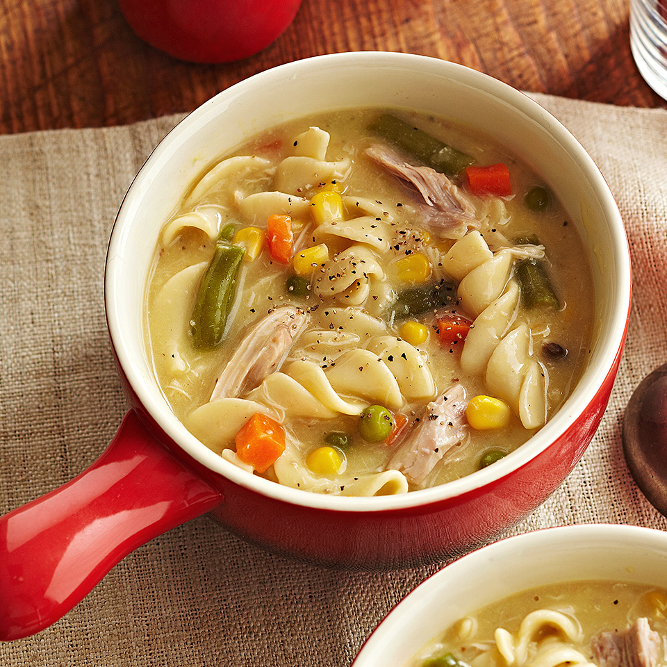 Creamy Chicken Noodle Soup Allrecipes Trusted Brands