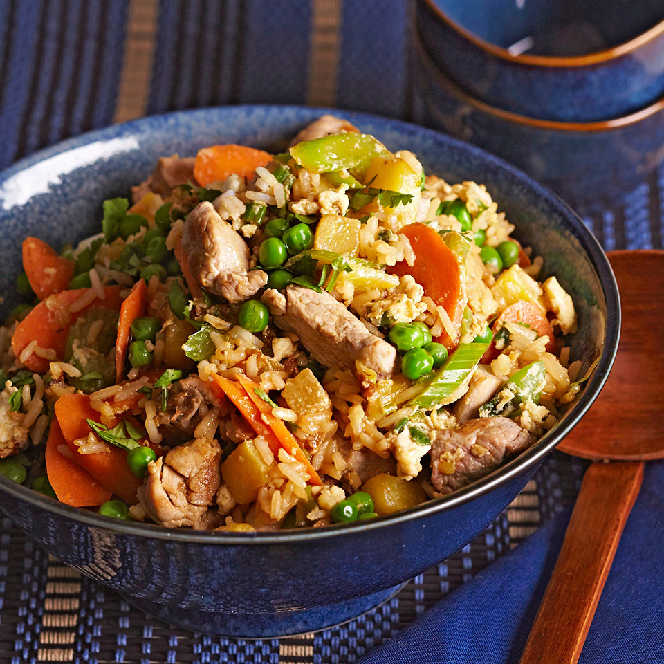 Pineapple Pork Fried Rice Trusted Brands