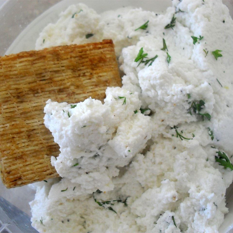 Garlic and Basil Goat Cheese Ranchgurl