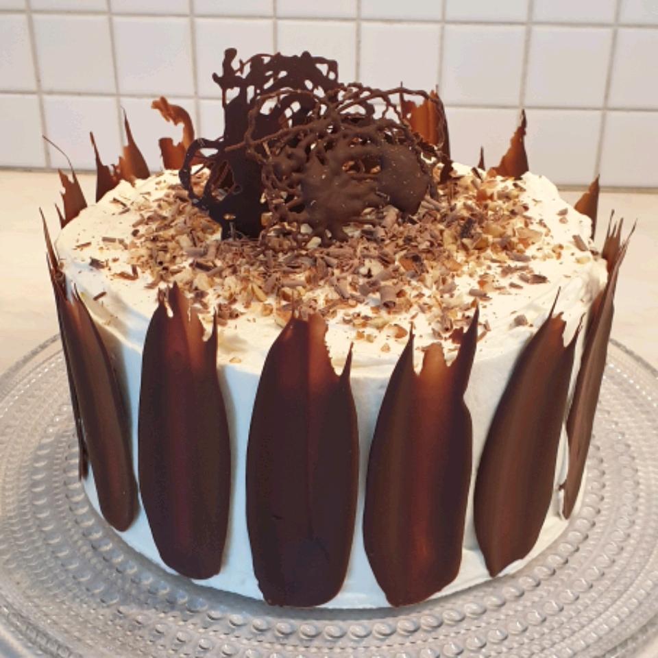 Chocolate Praline Layer Cake