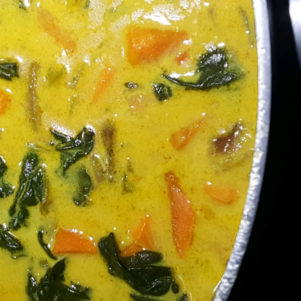 Sweet Potato and Kale Soup