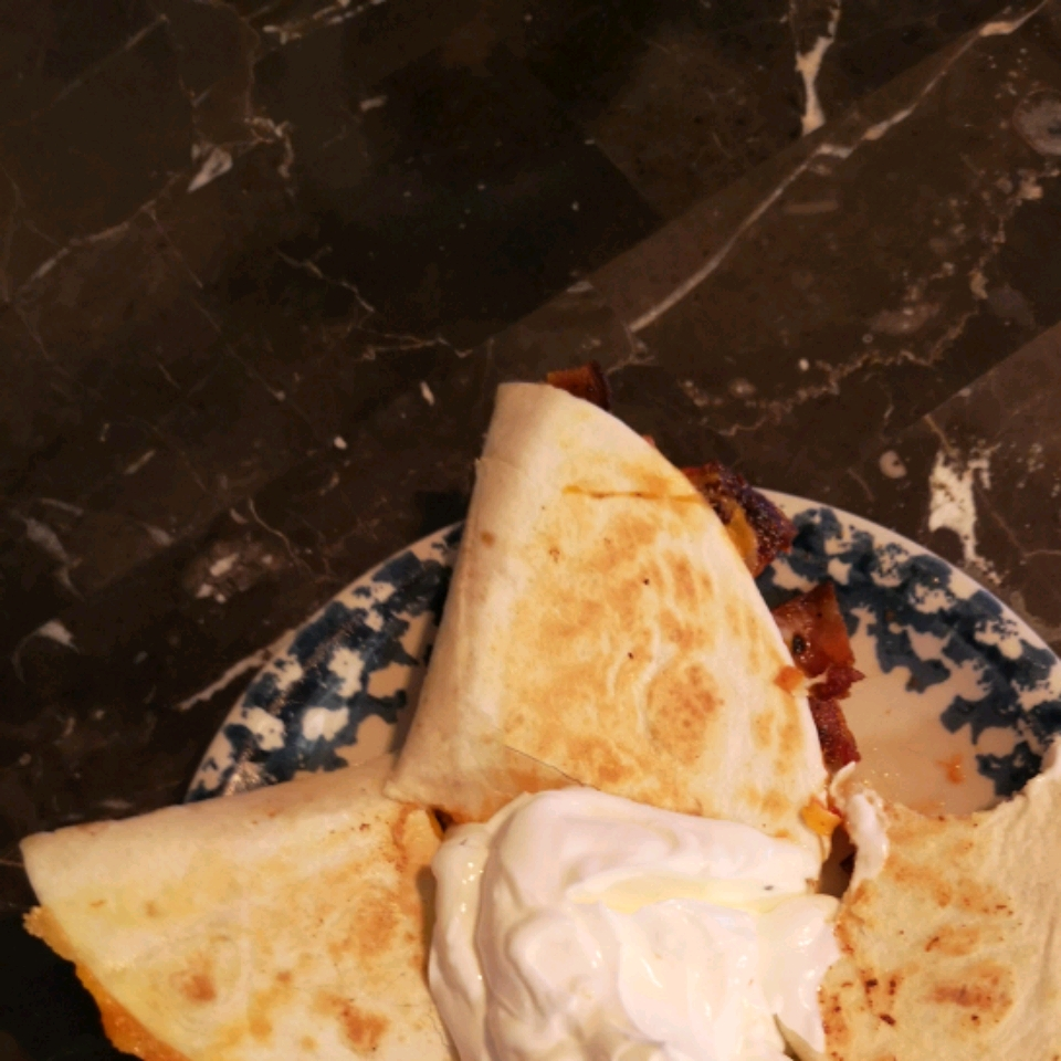Bacon and Tomato Quesadillas Heather Walker-Patterson