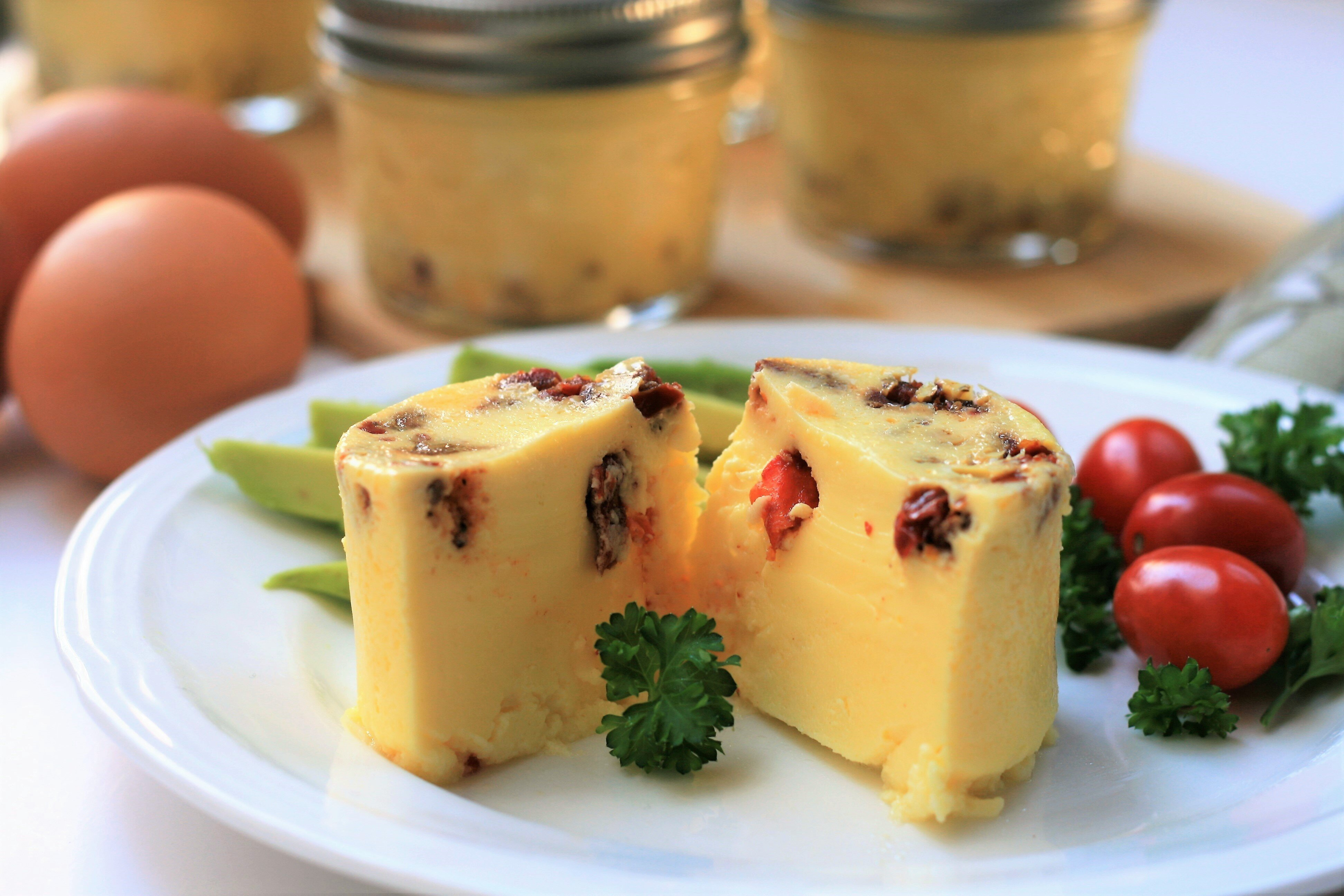 Sun Dried Tomato And Goat Cheese Sous Vide Egg Bites Recipe Allrecipes