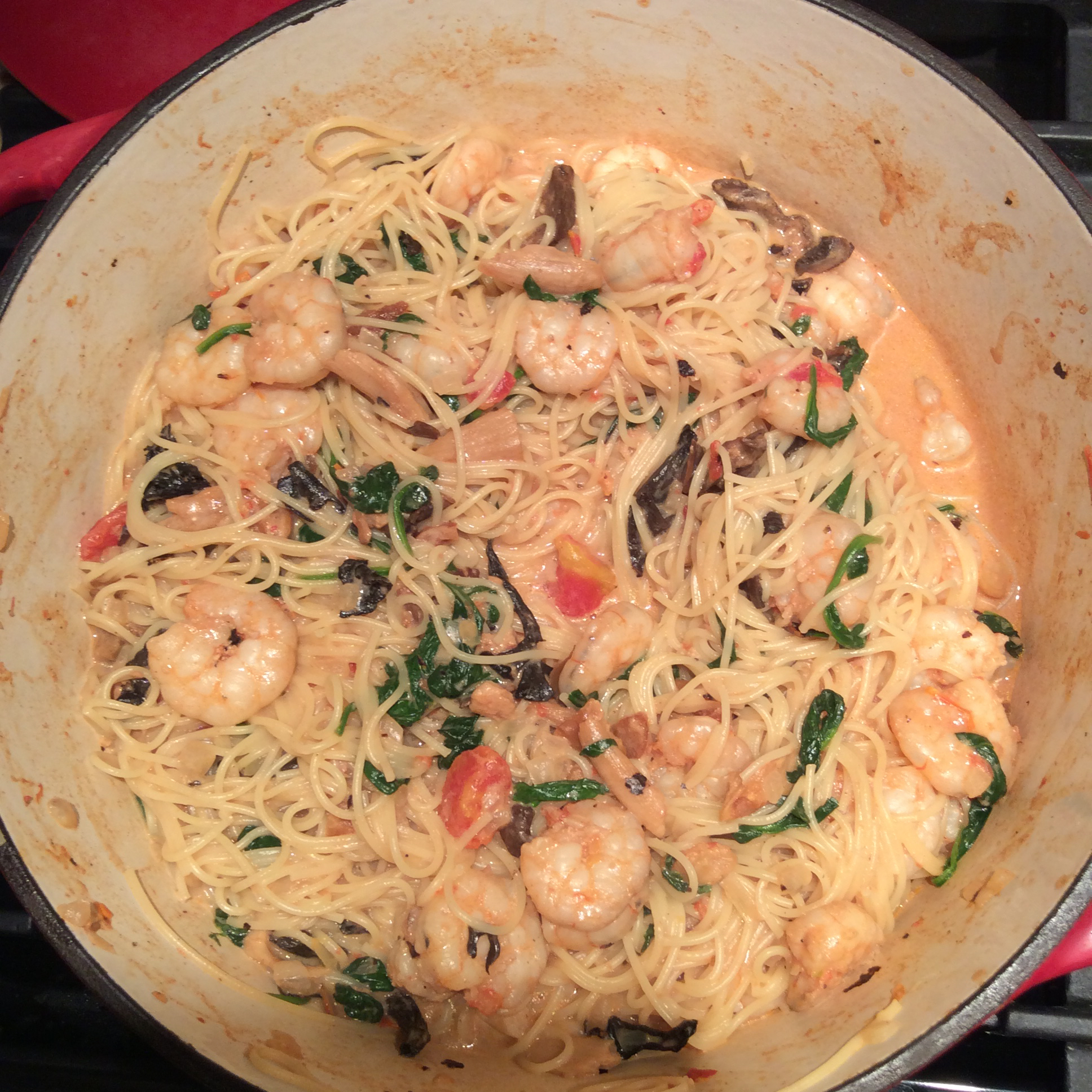 Exchange Gang Pasta with Shrimp Deb Jones
