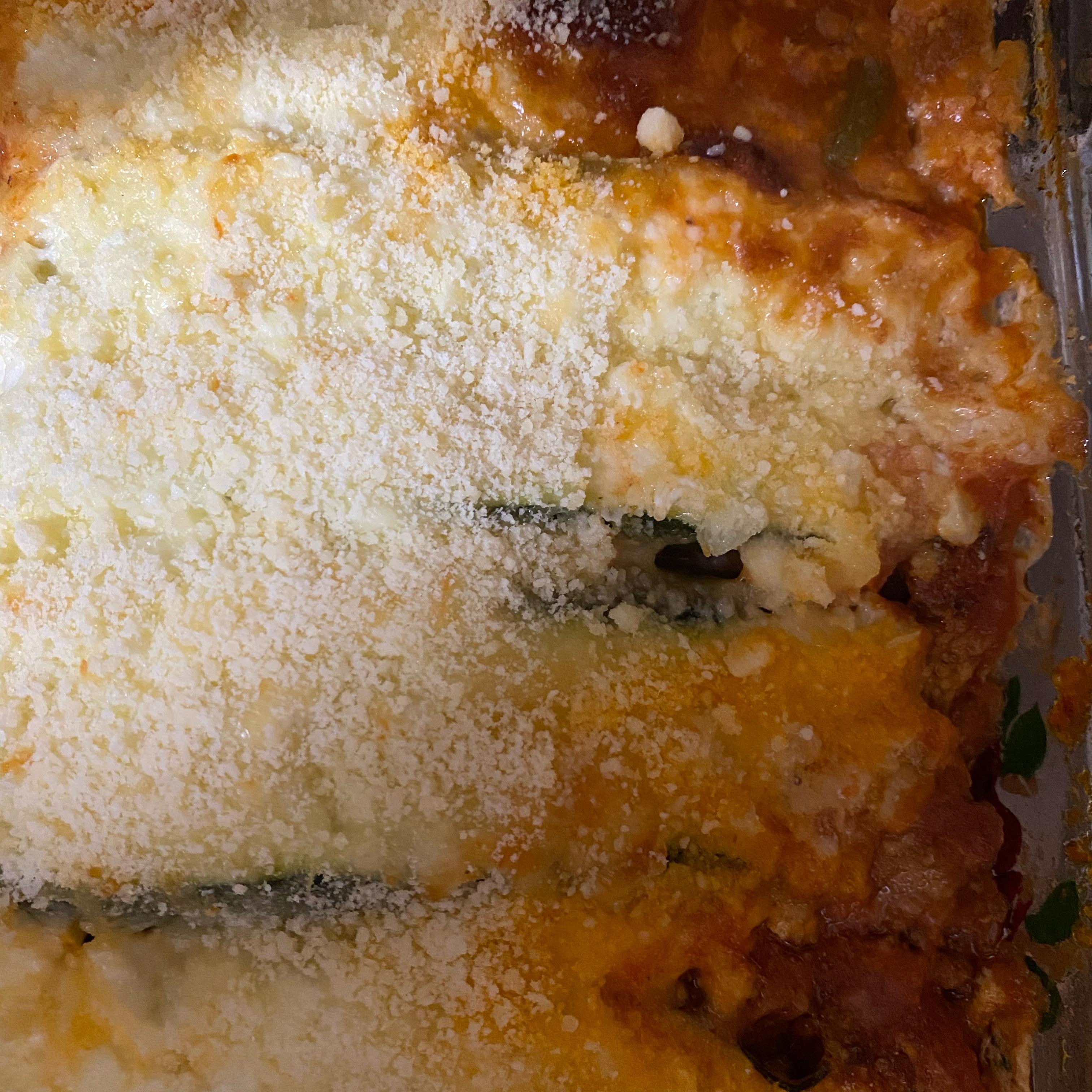 No-Noodle Zucchini Lasagna Jennifer Nicol Tritsch