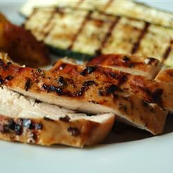 Grilled Chicken with Herbs chibi chef