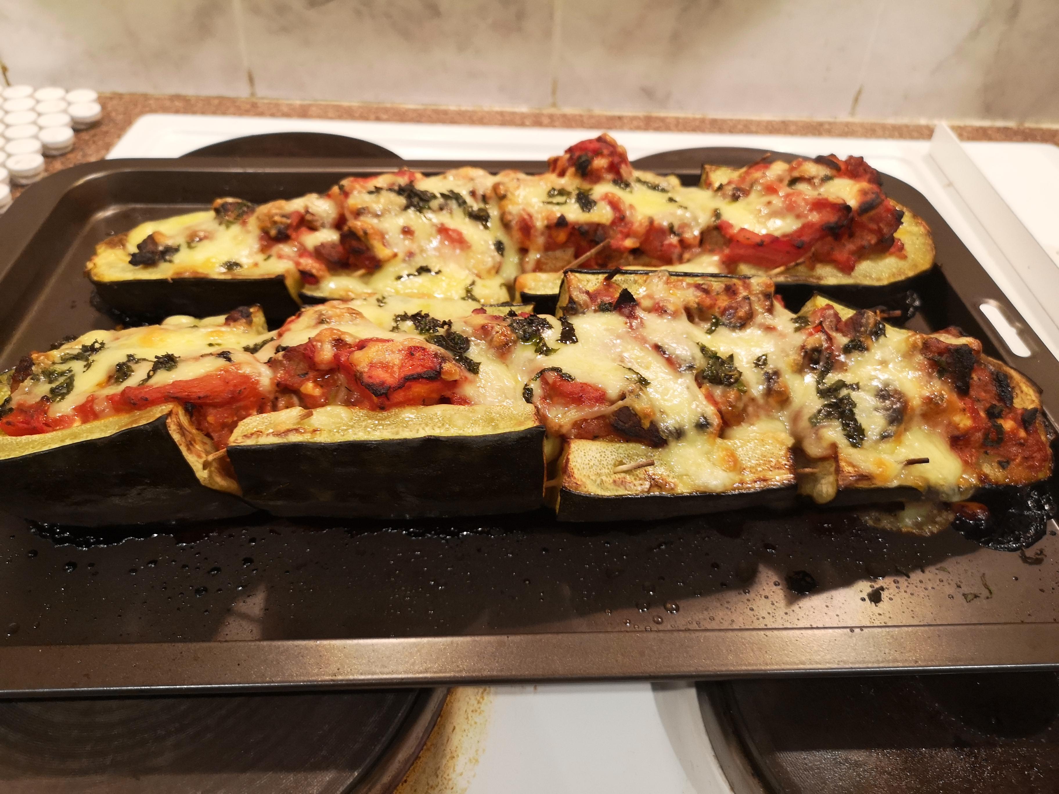 Mediterranean Stuffed Zucchini Nikita Vicentillo