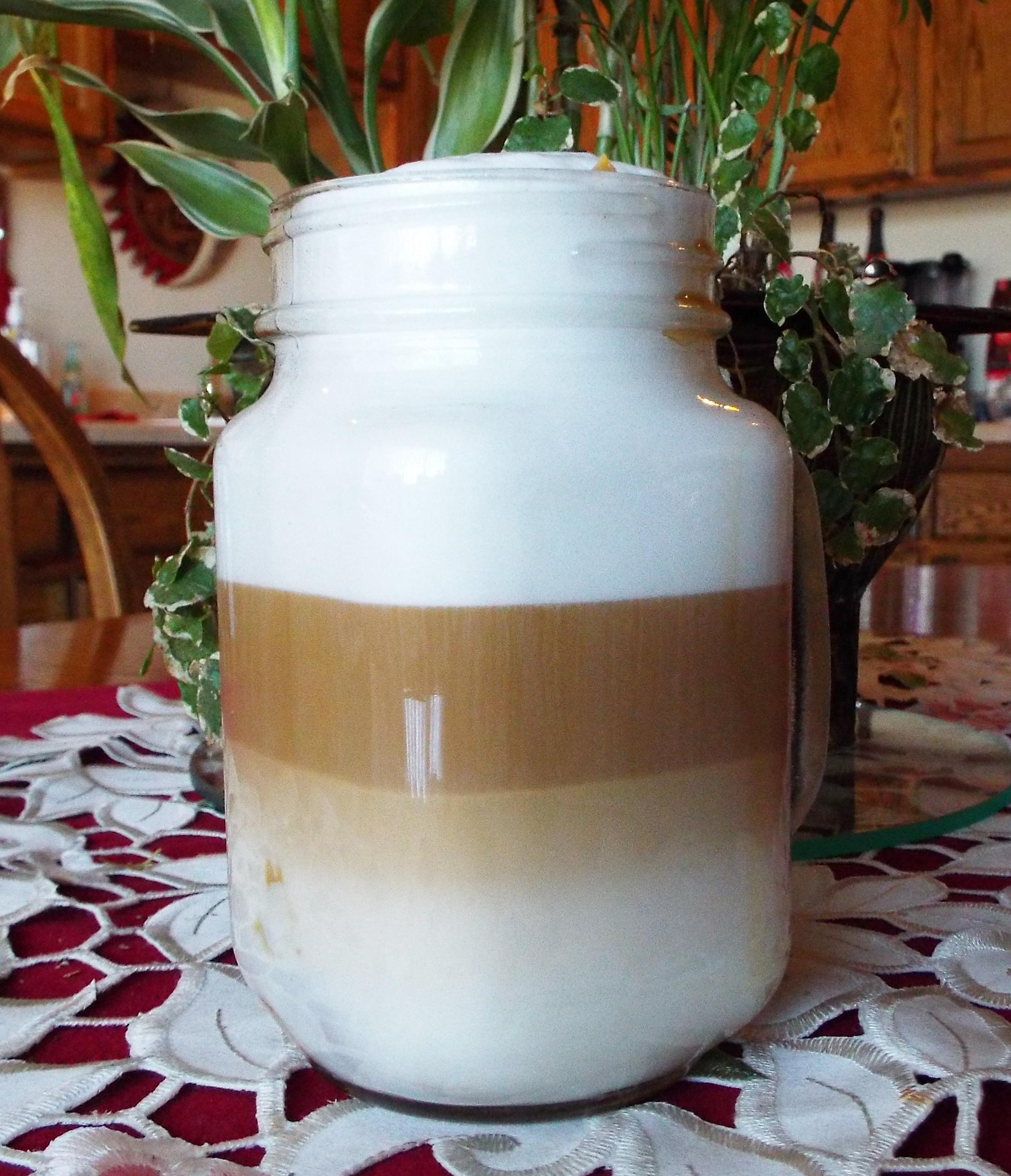 White Chocolate Peanut Butter Latte