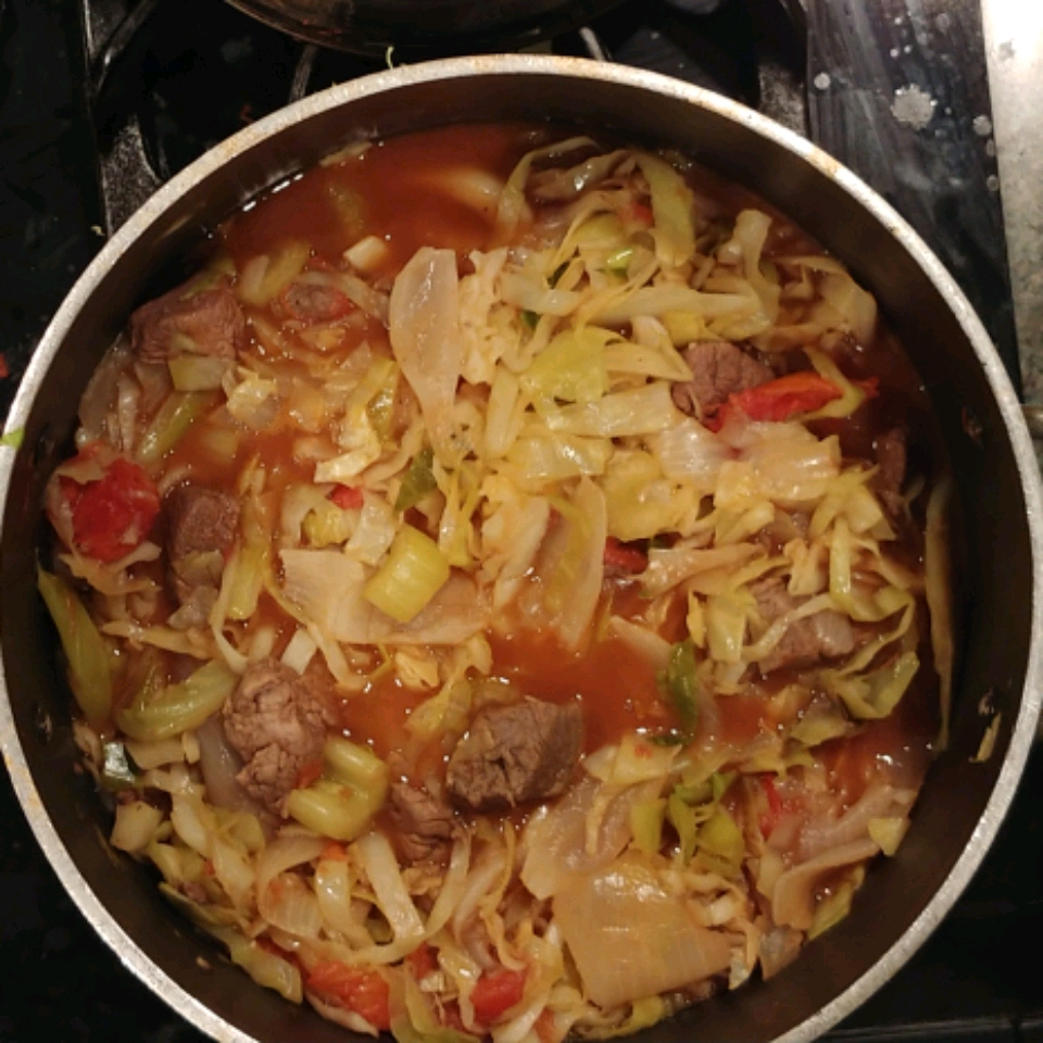 Low-Carb Beef Cabbage Stew