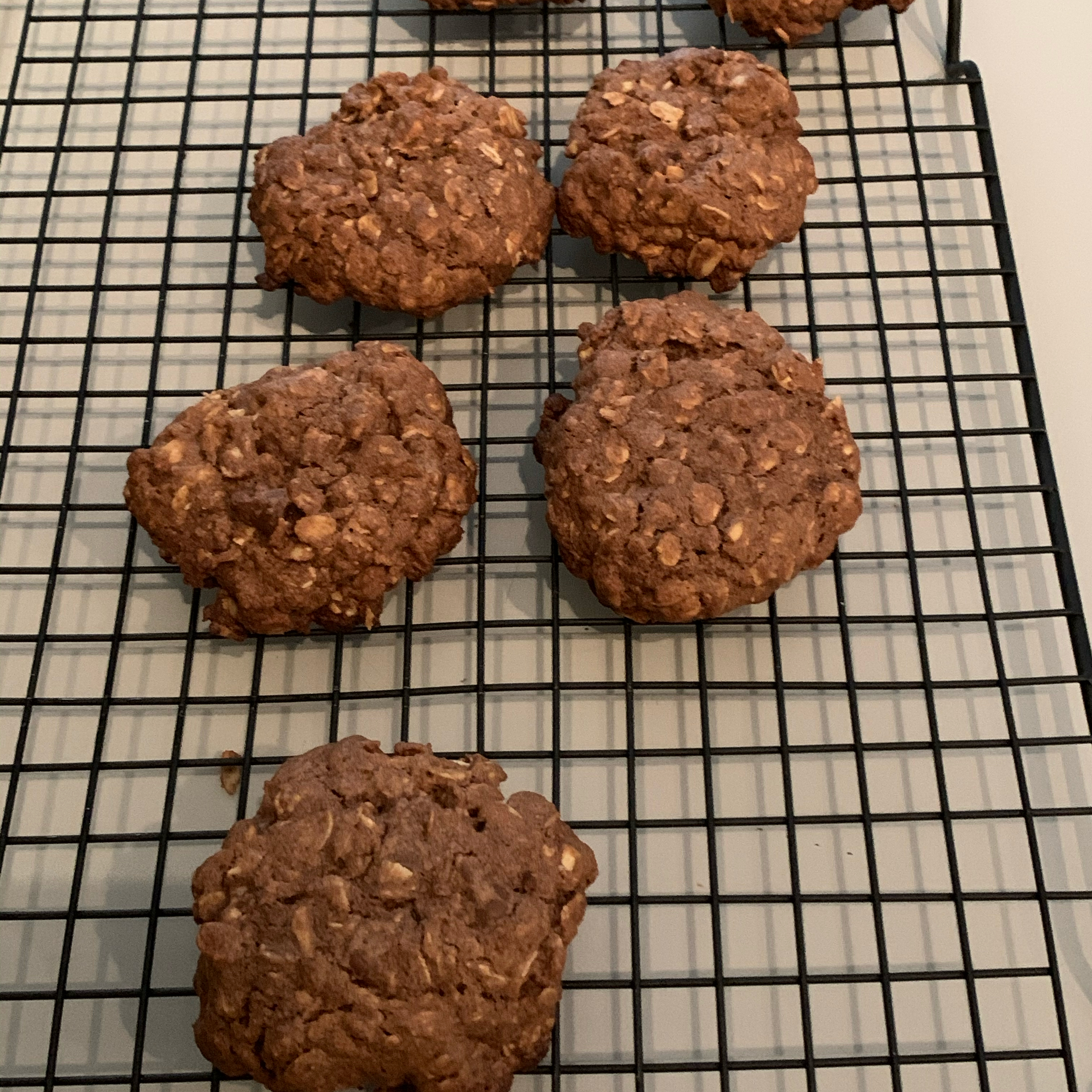 Chocolate Oatmeal Chocolate Chips Cookies