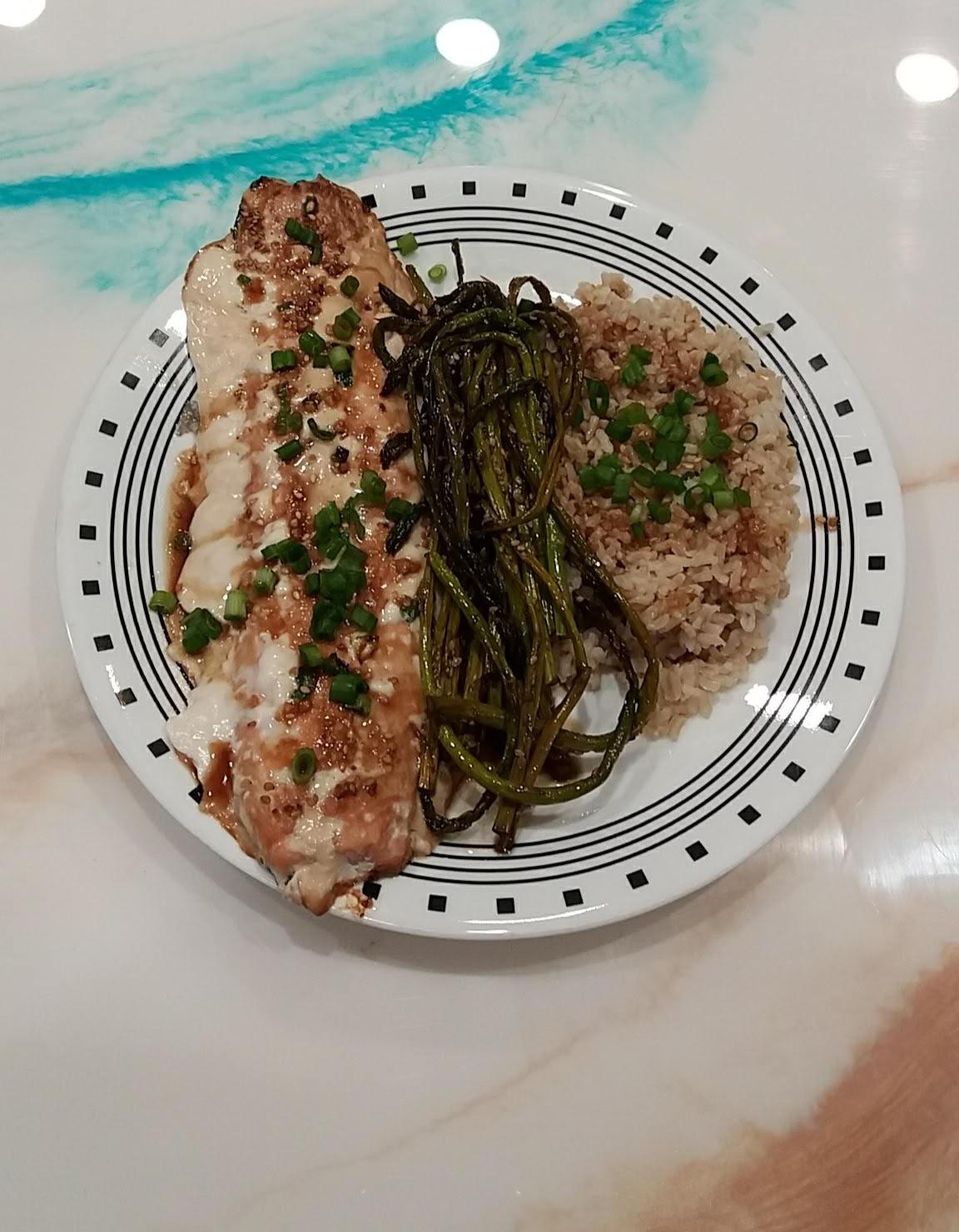 Sesame Grilled Salmon Gwen W.