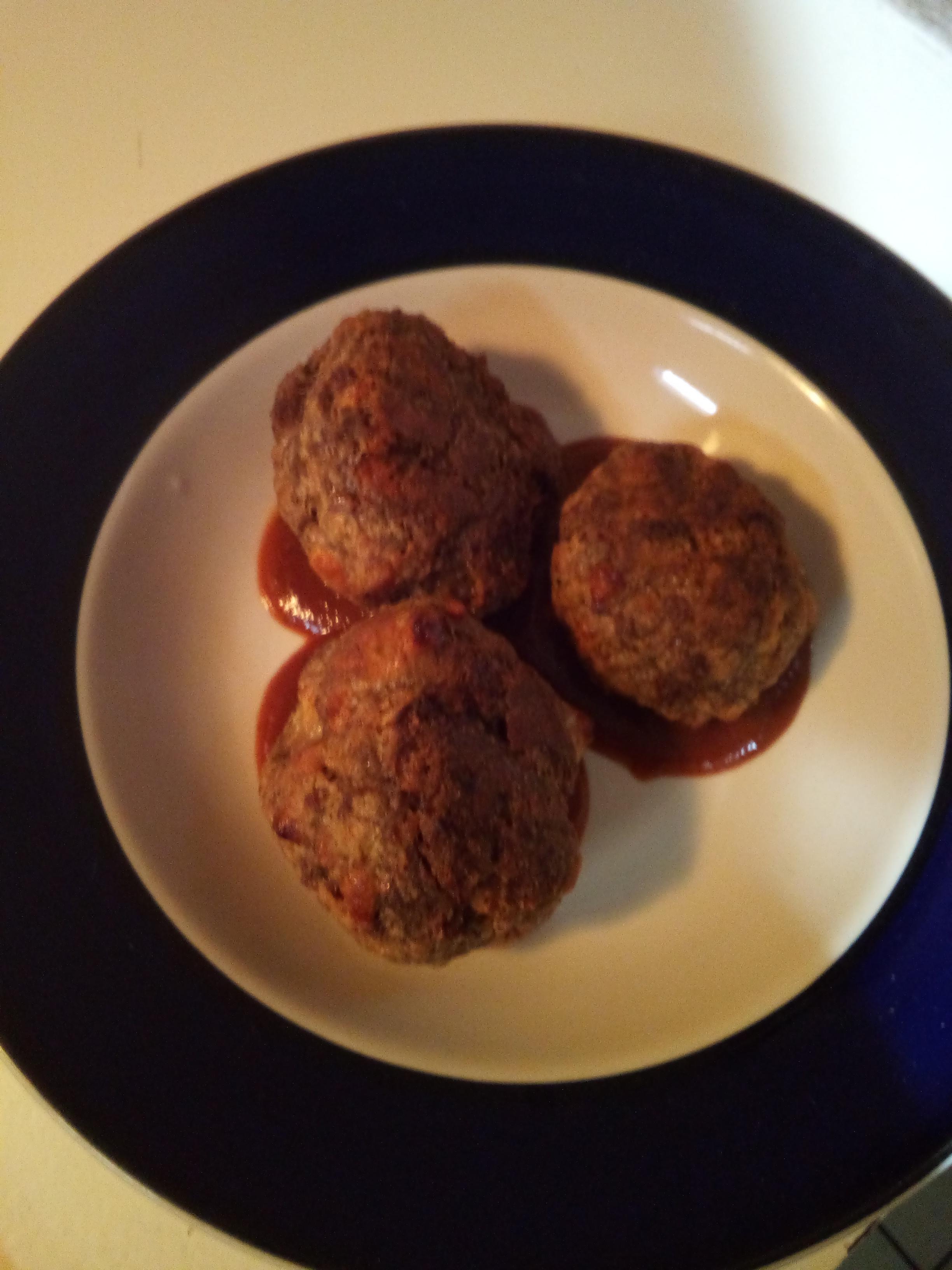 Italian Baked Meatballs Darren Krauza