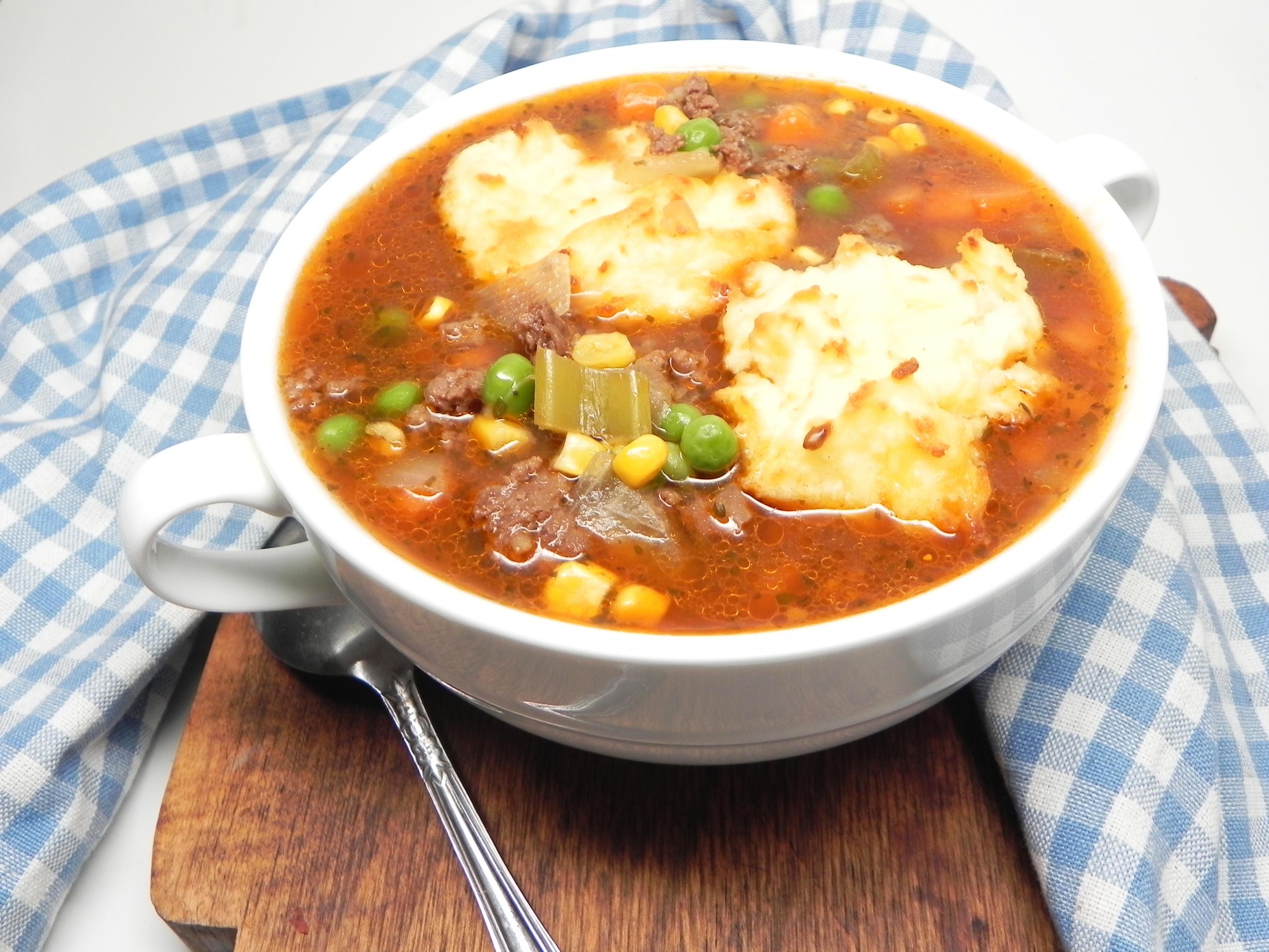 Instant Pot® Cottage Pie Soup