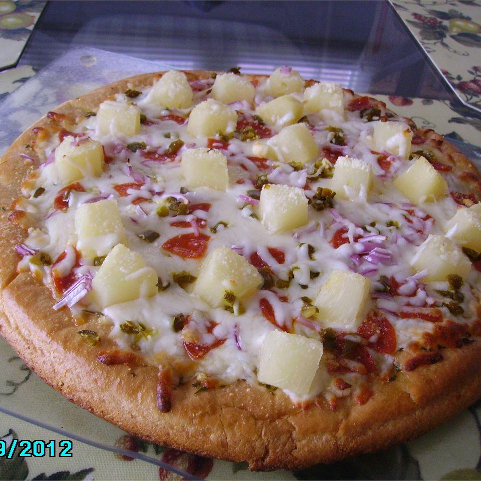 Pineapple Jalapeno Pizza Christina